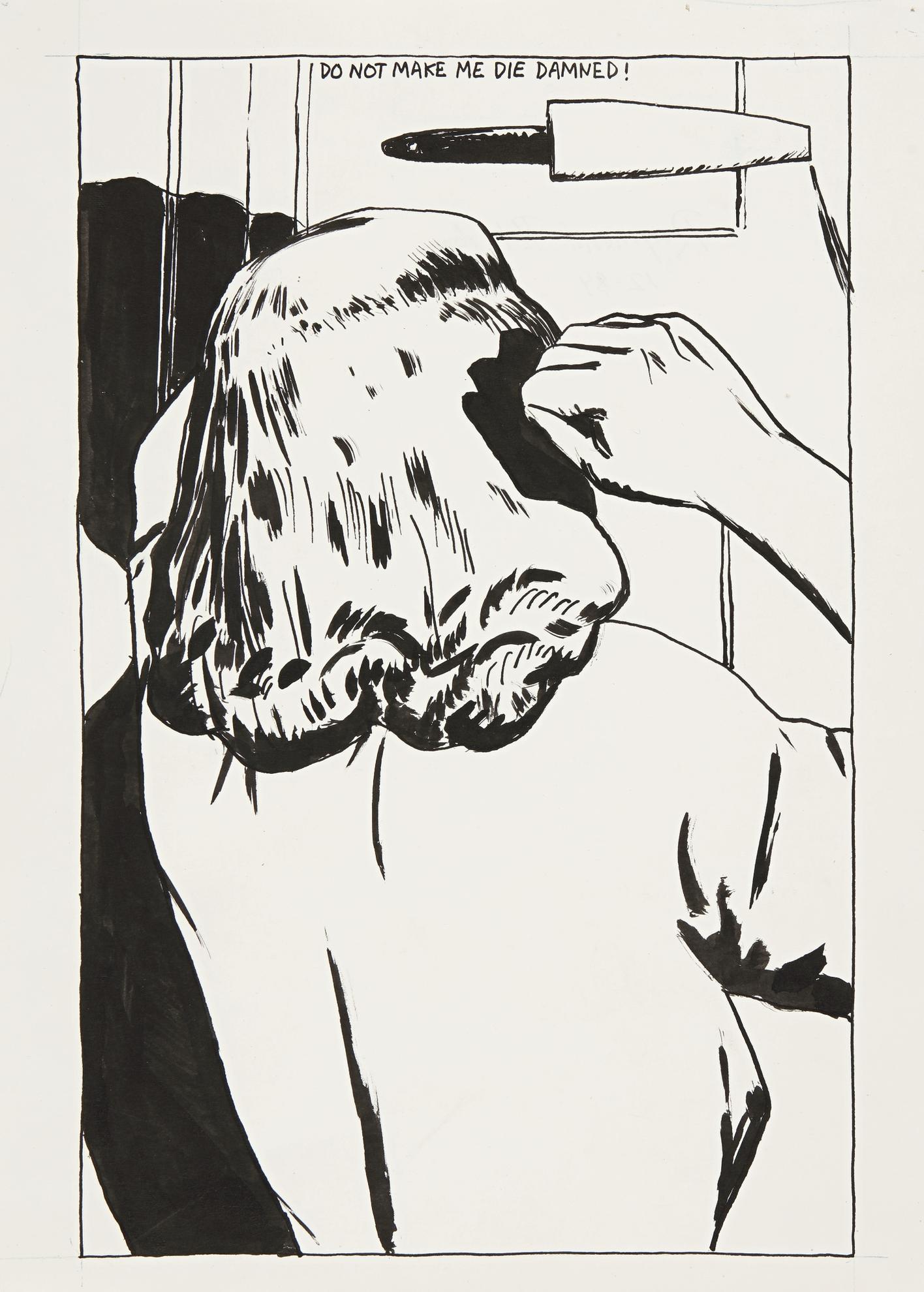 Raymond Pettibon-No Title (Do Not Make...)-1984