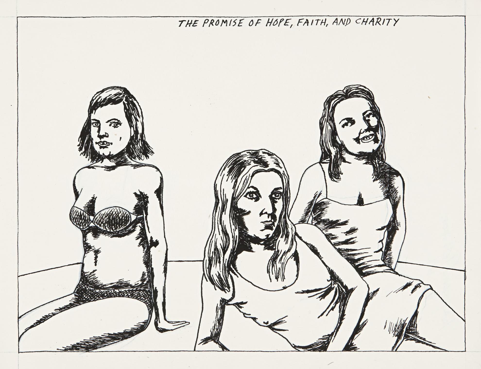 Raymond Pettibon-No Title (The Promise Of...)-1982
