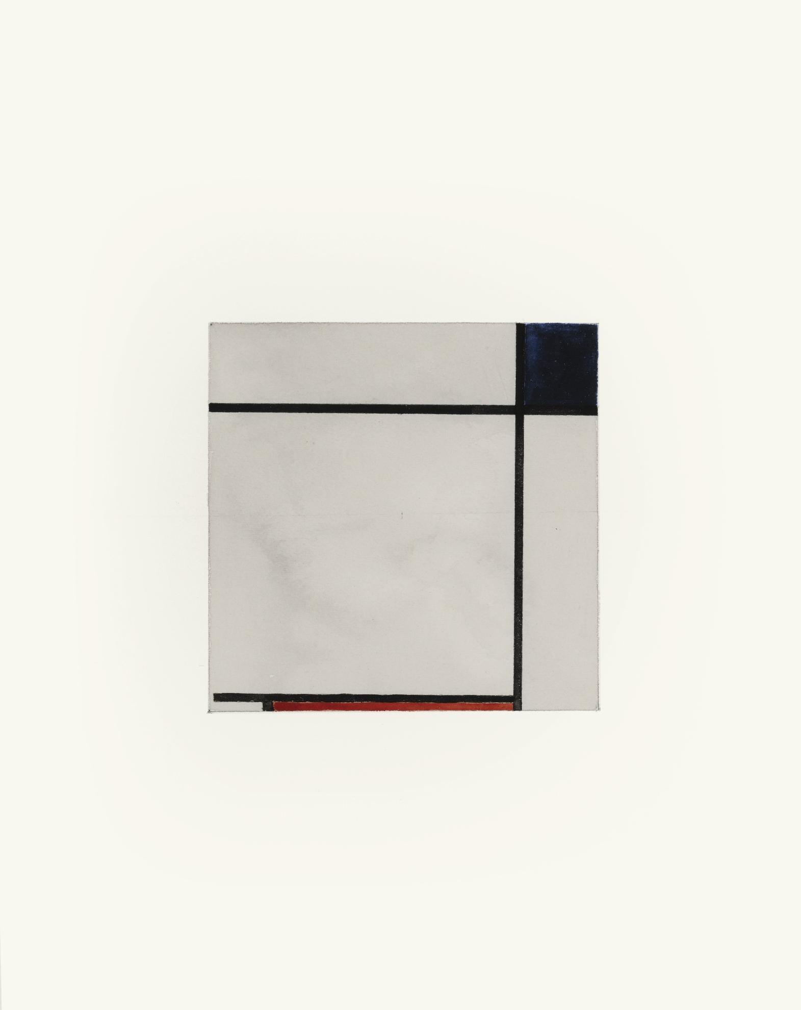 Sherrie Levine-After Piet Mondrian-1983