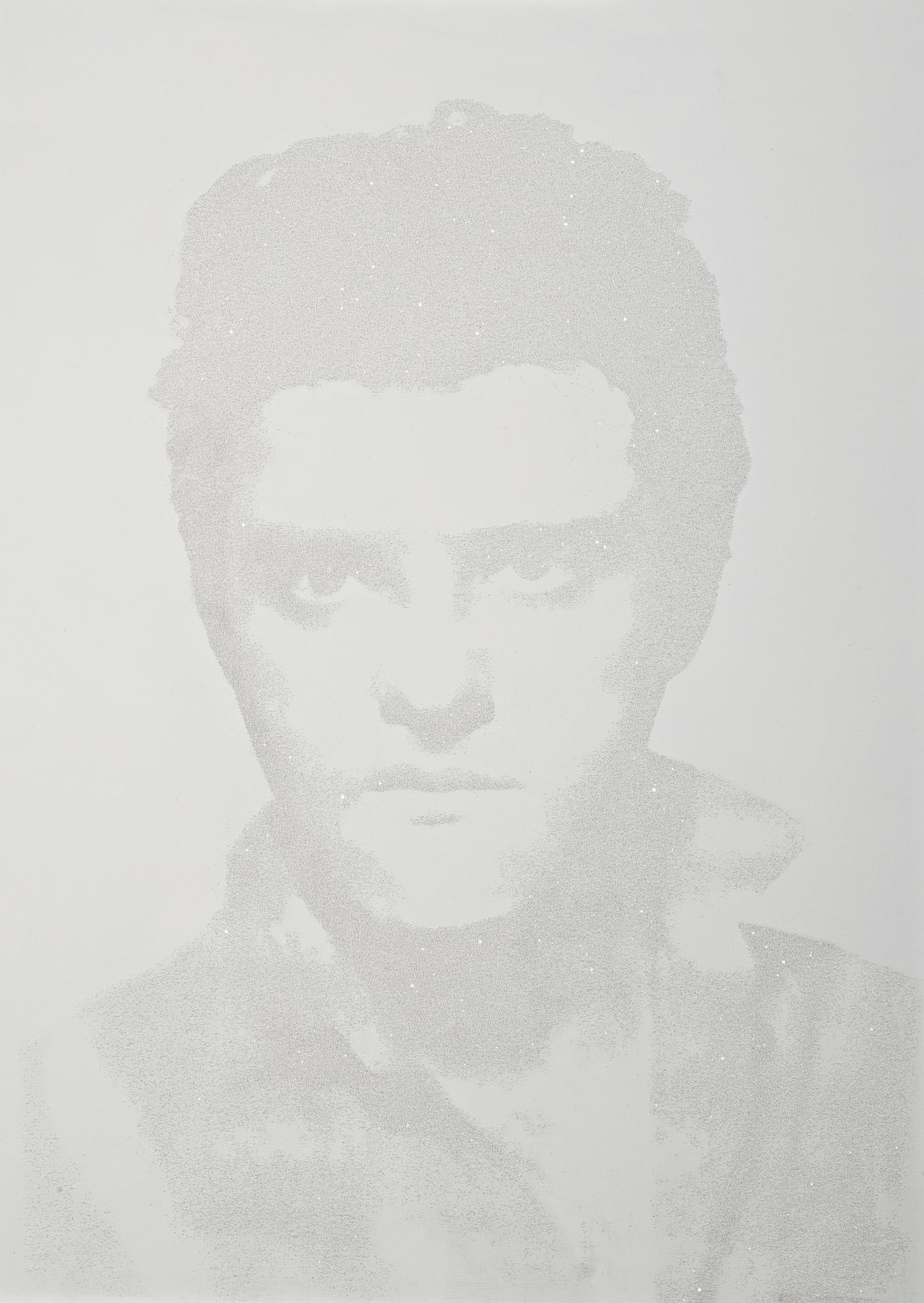 Gavin Turk-White Diamond Elvis-2007