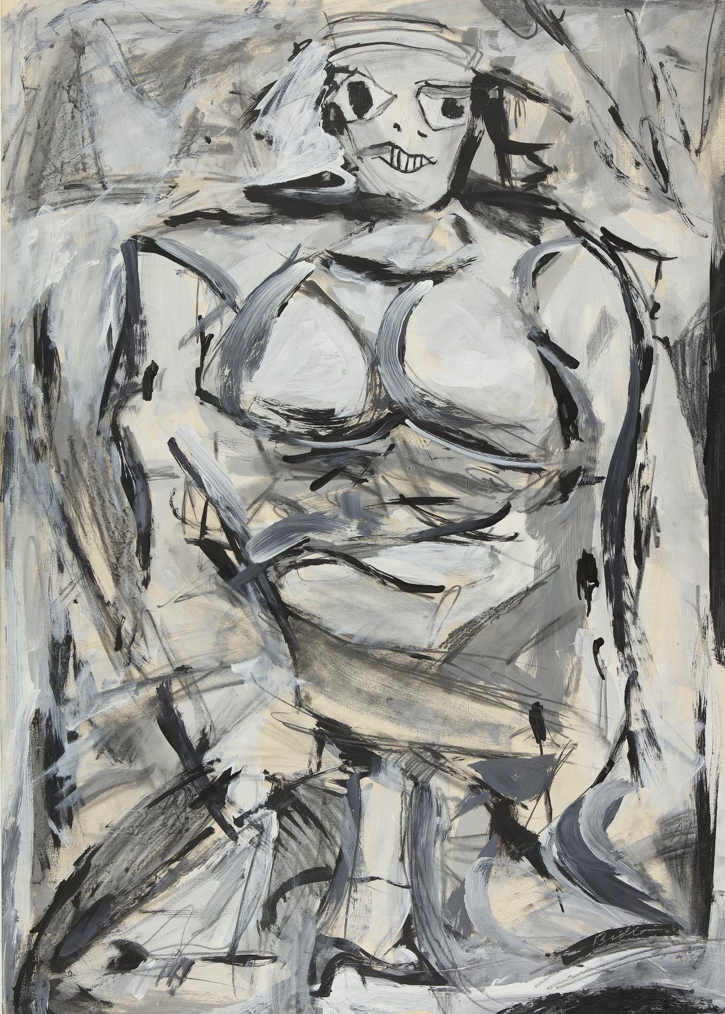 Mike Bidlo-Not De Kooning-1984