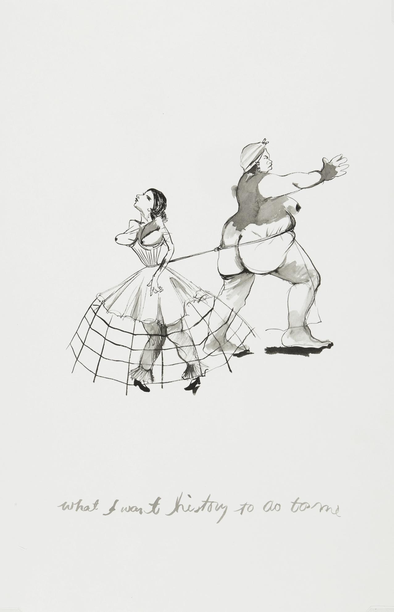 Kara Walker-What I Want History To Do To Me-1995