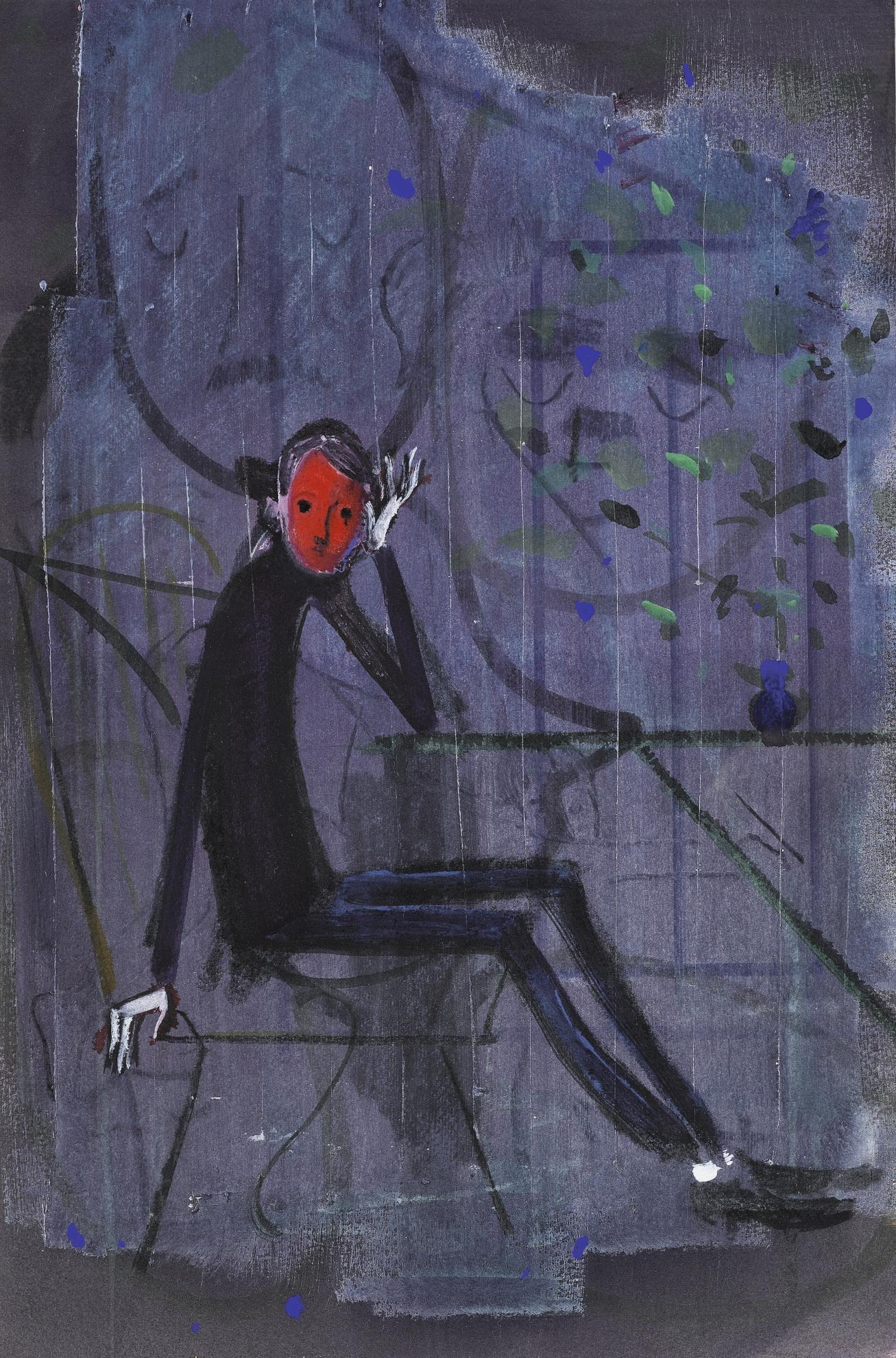 Sanya Kantarovsky-Untitled-2013