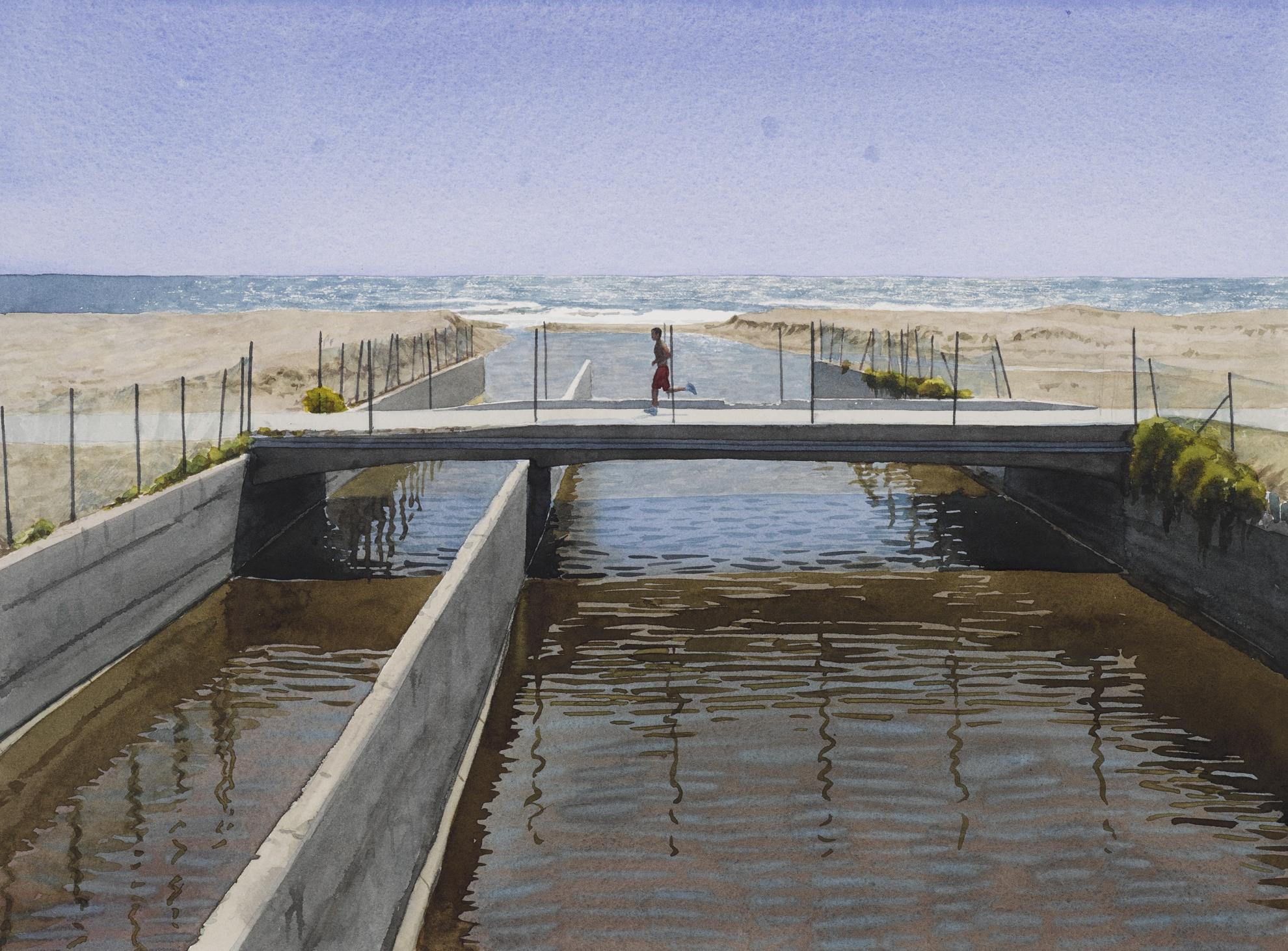 Tim Gardner-Untitled (Runner & Sewage; Venice, Ca)-2003