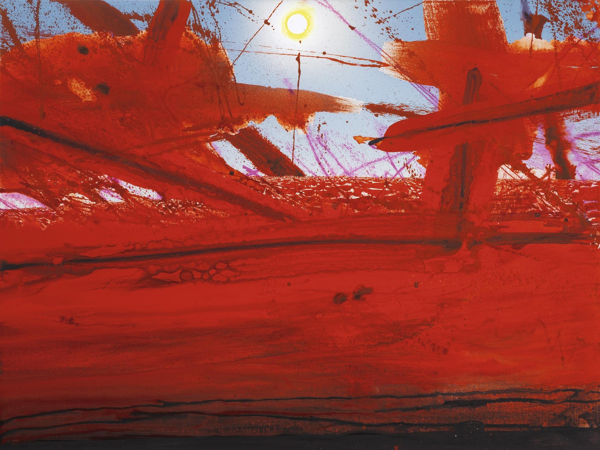 Barnaby Furnas-Study For Red Sea (3)-2005