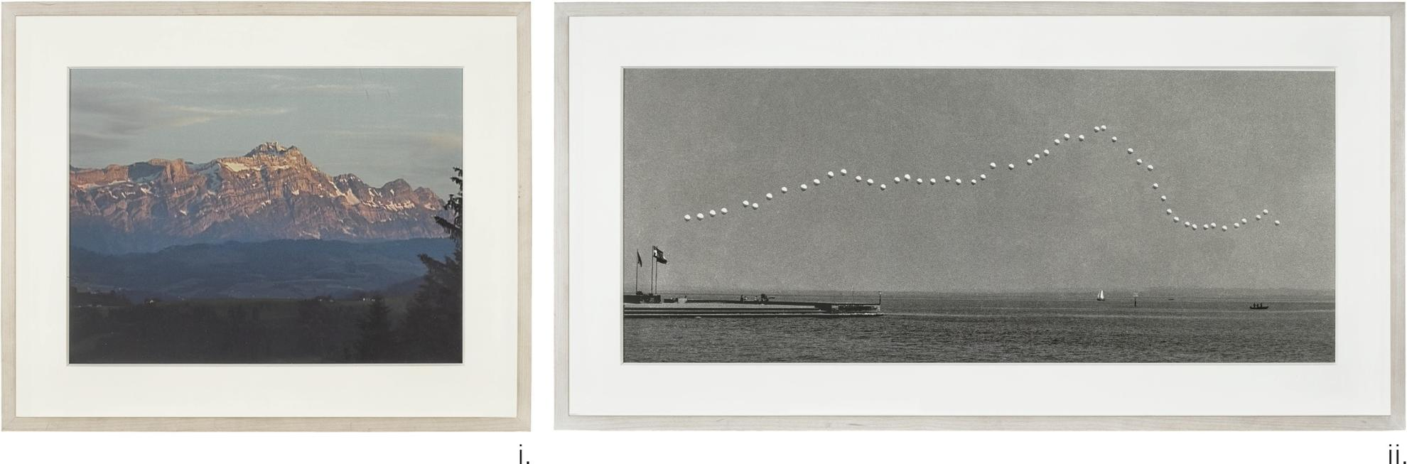 Roman Signer-Santis And Bodensee-1975