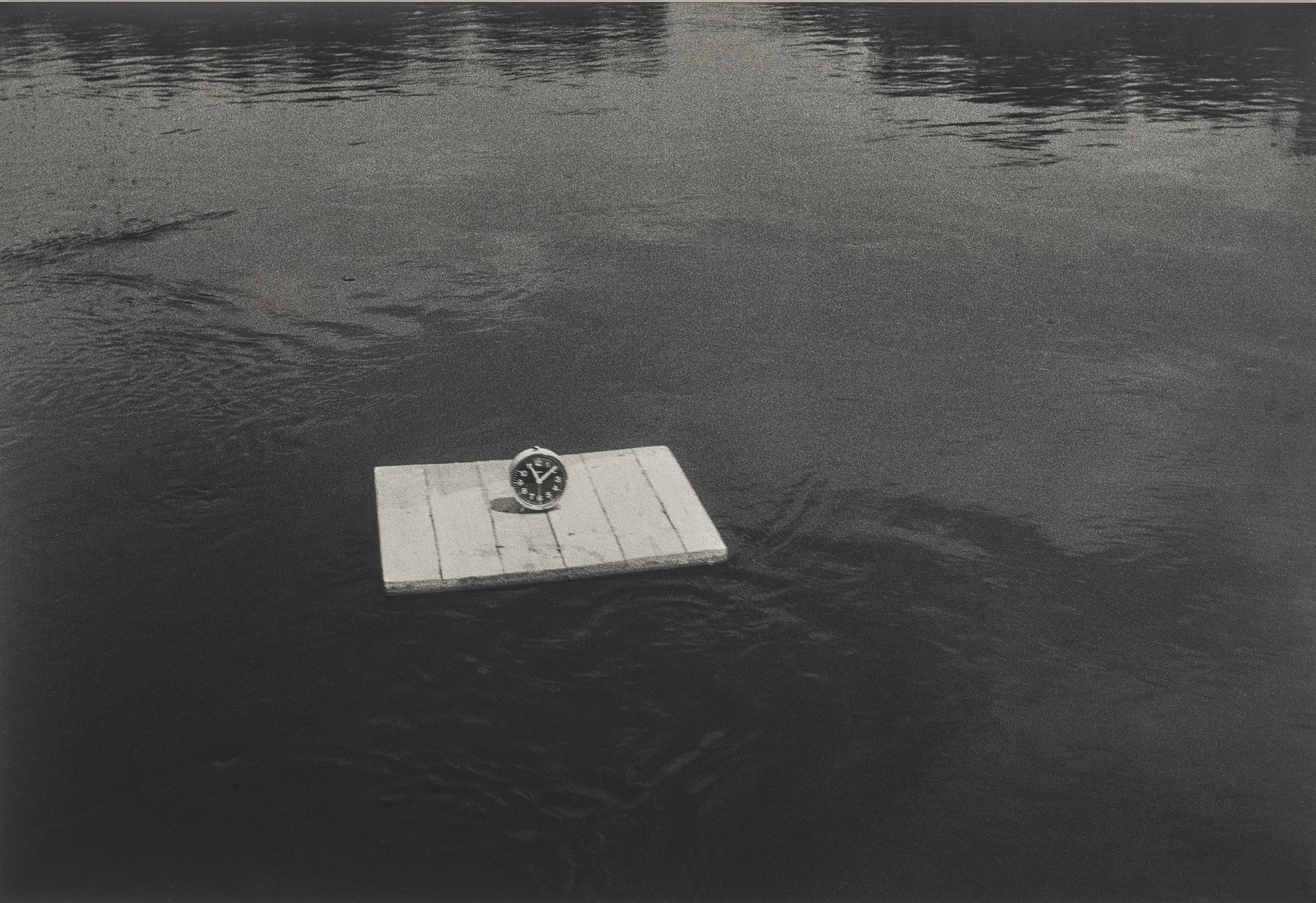 Roman Signer-Lauten Auf Dem Fluss-1986