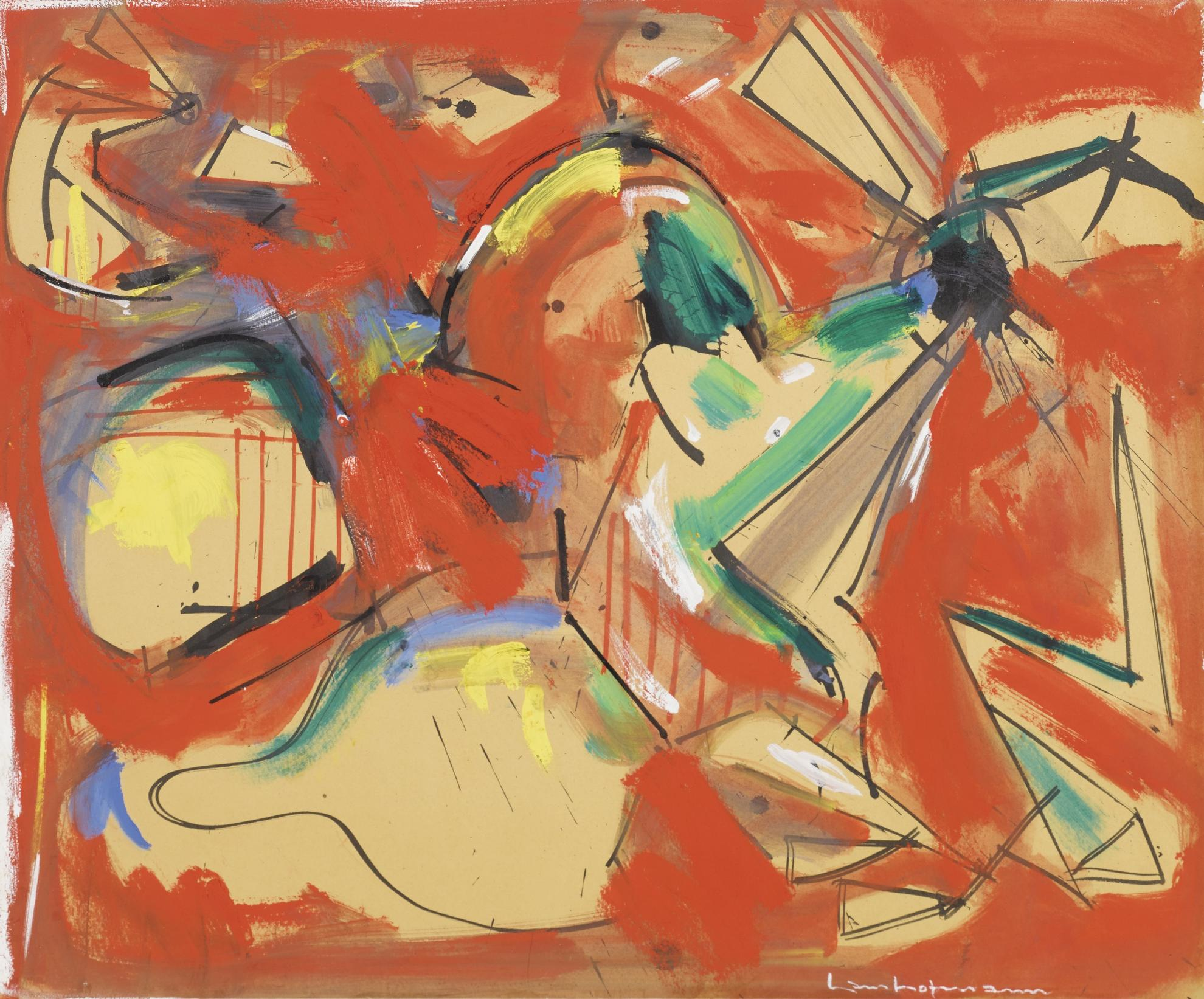 Hans Hofmann-Untitled-1944