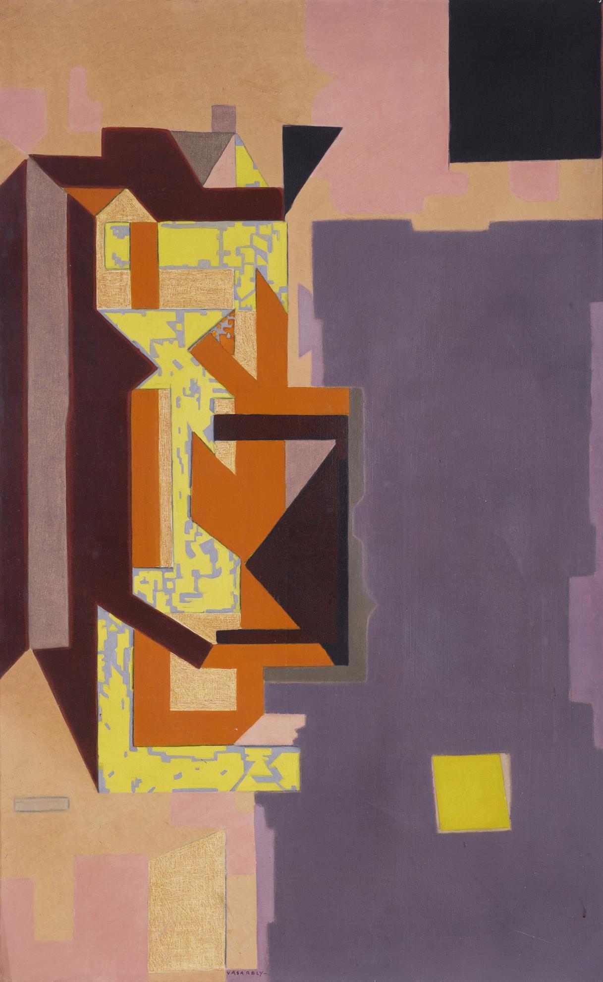 Victor Vasarely-Ispahan-1948