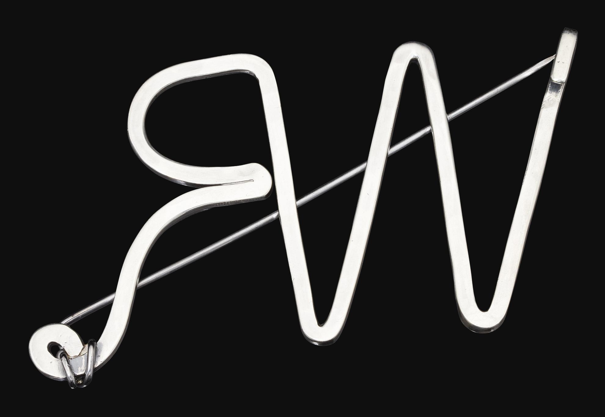 Alexander Calder-Rw Initial Pin-1945