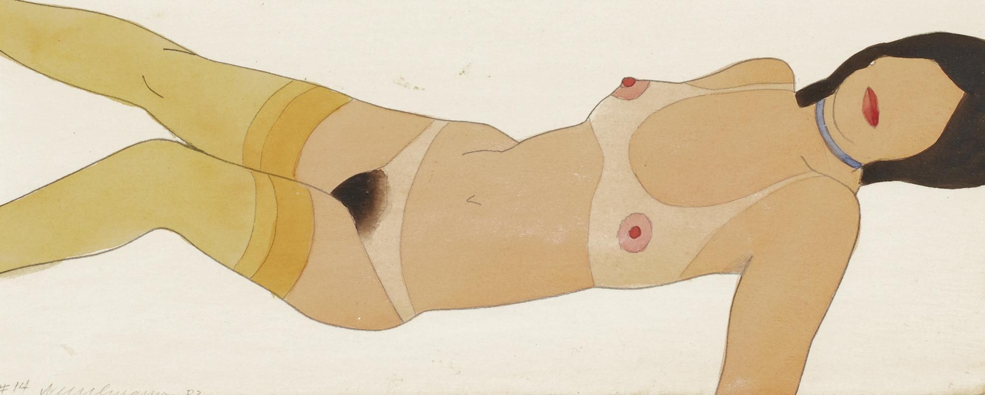 Tom Wesselmann-Beautiful Kate #14 (Variable Edition)-1982