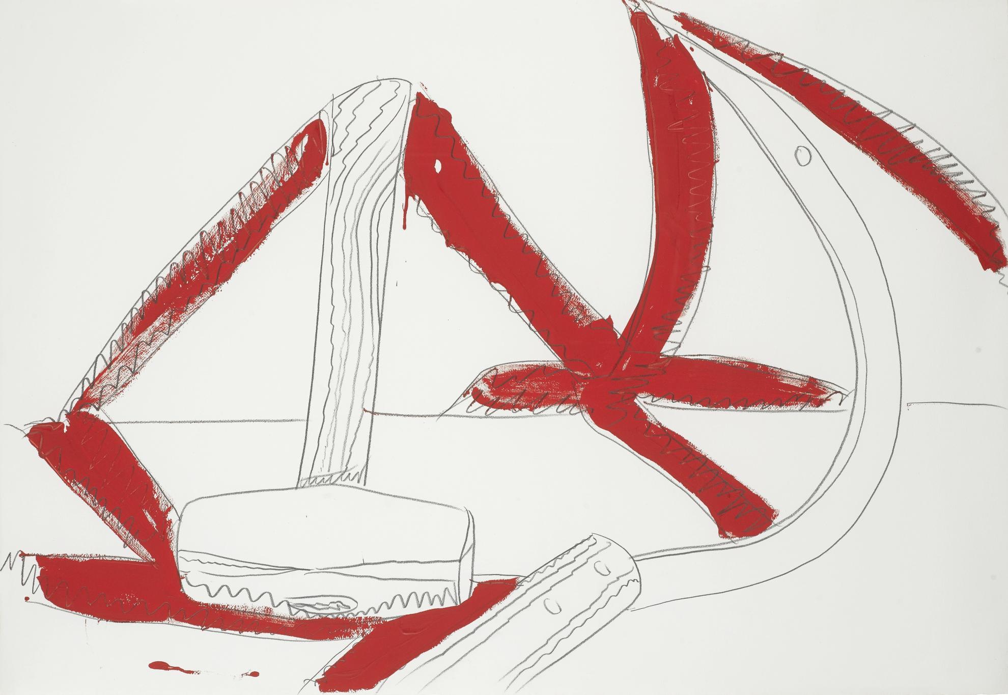 Andy Warhol-Still-Life (Hammer & Sickle)-1977