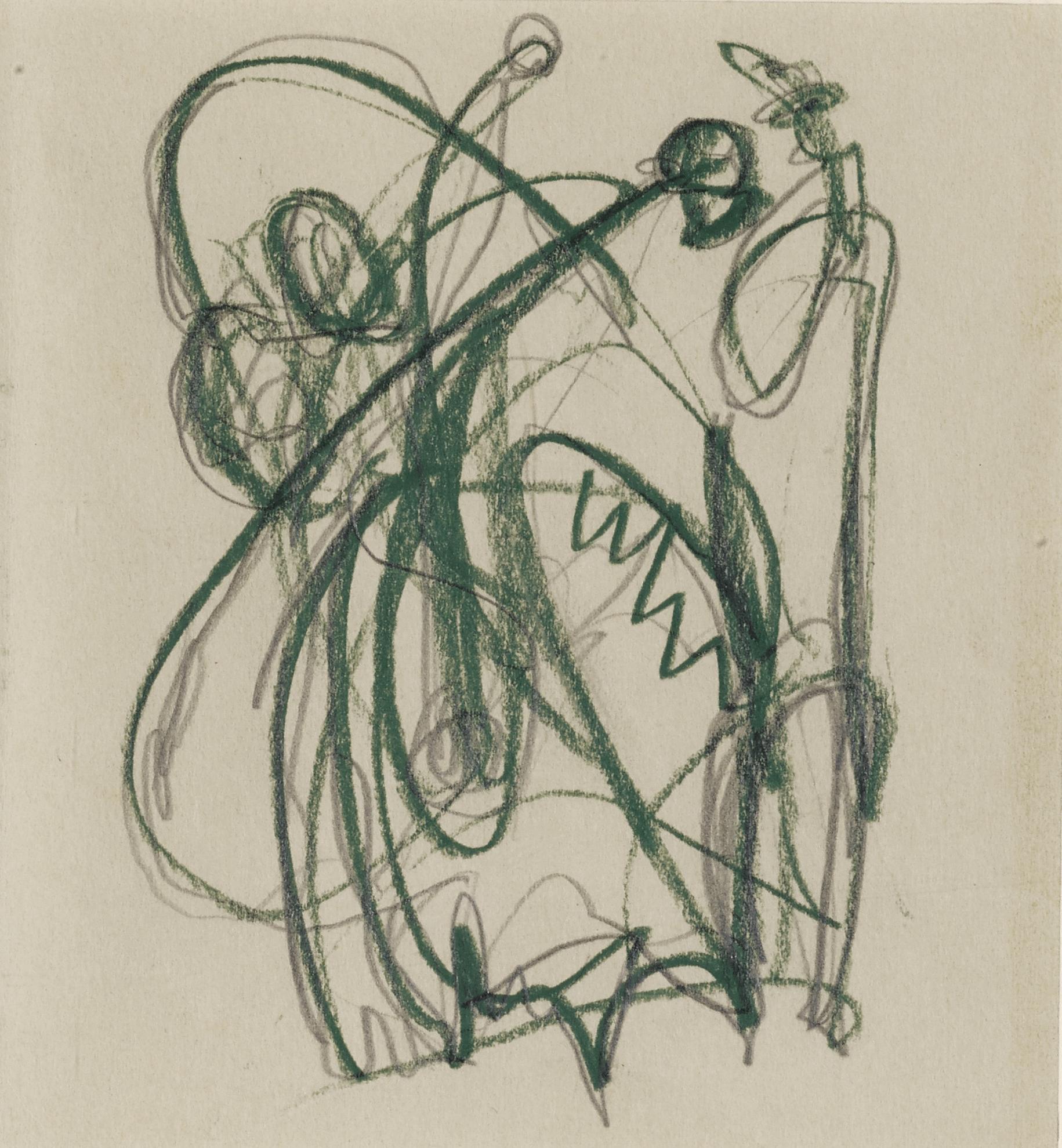 Jackson Pollock-Untitled-1940