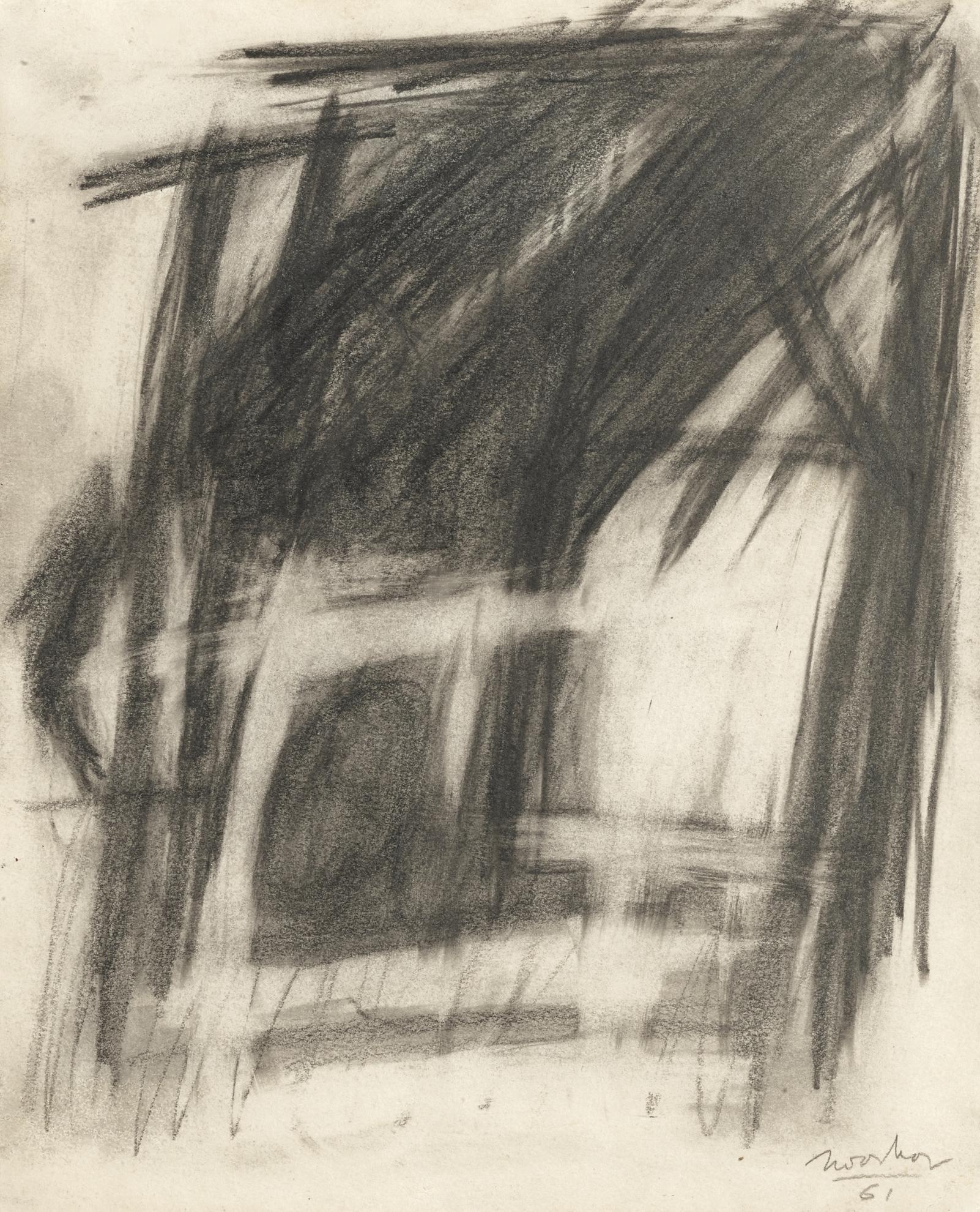 Jack Tworkov-Untitled (Barrier Series)-1961