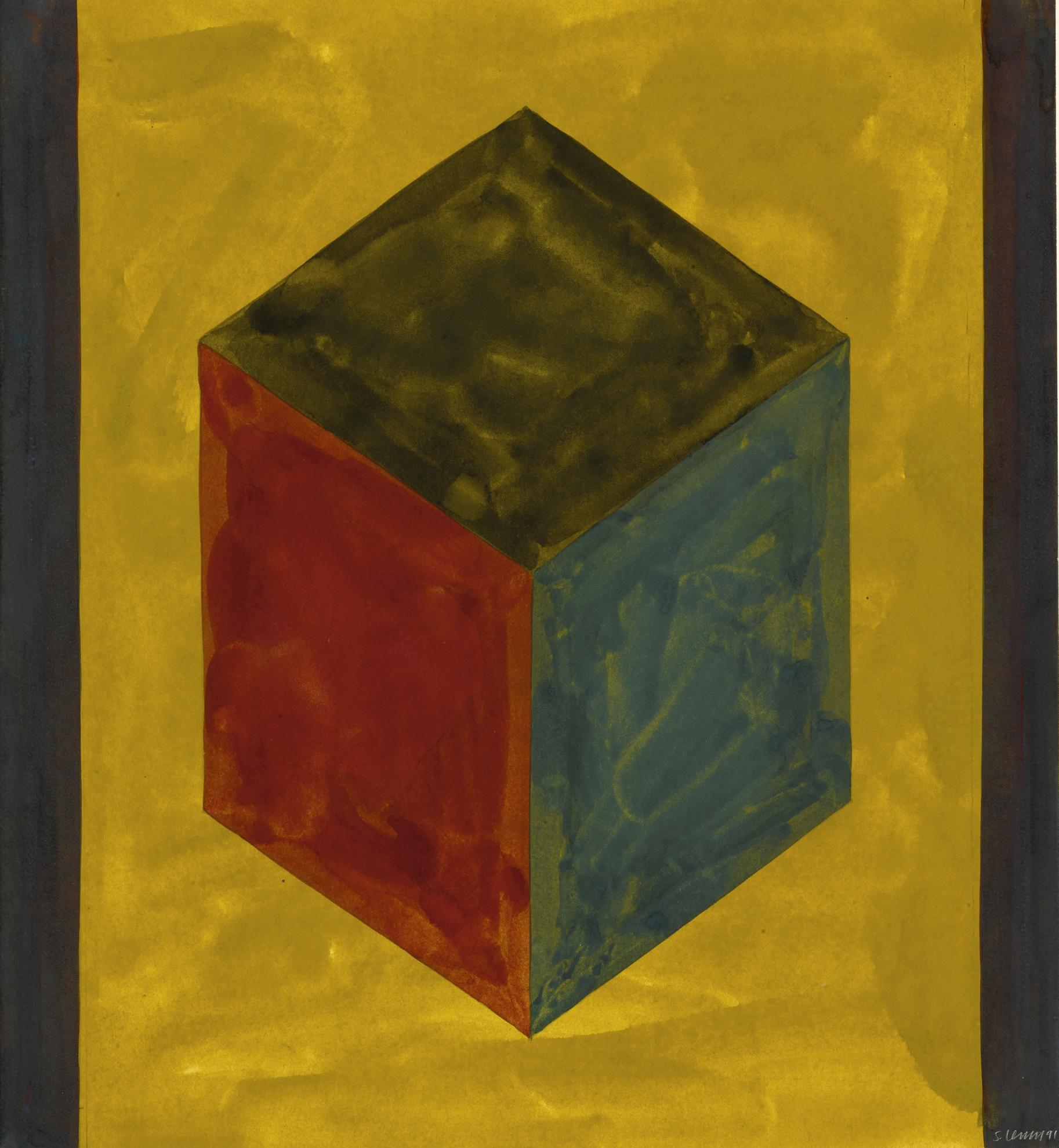 Sol LeWitt-Form Derived From A Cube-1991