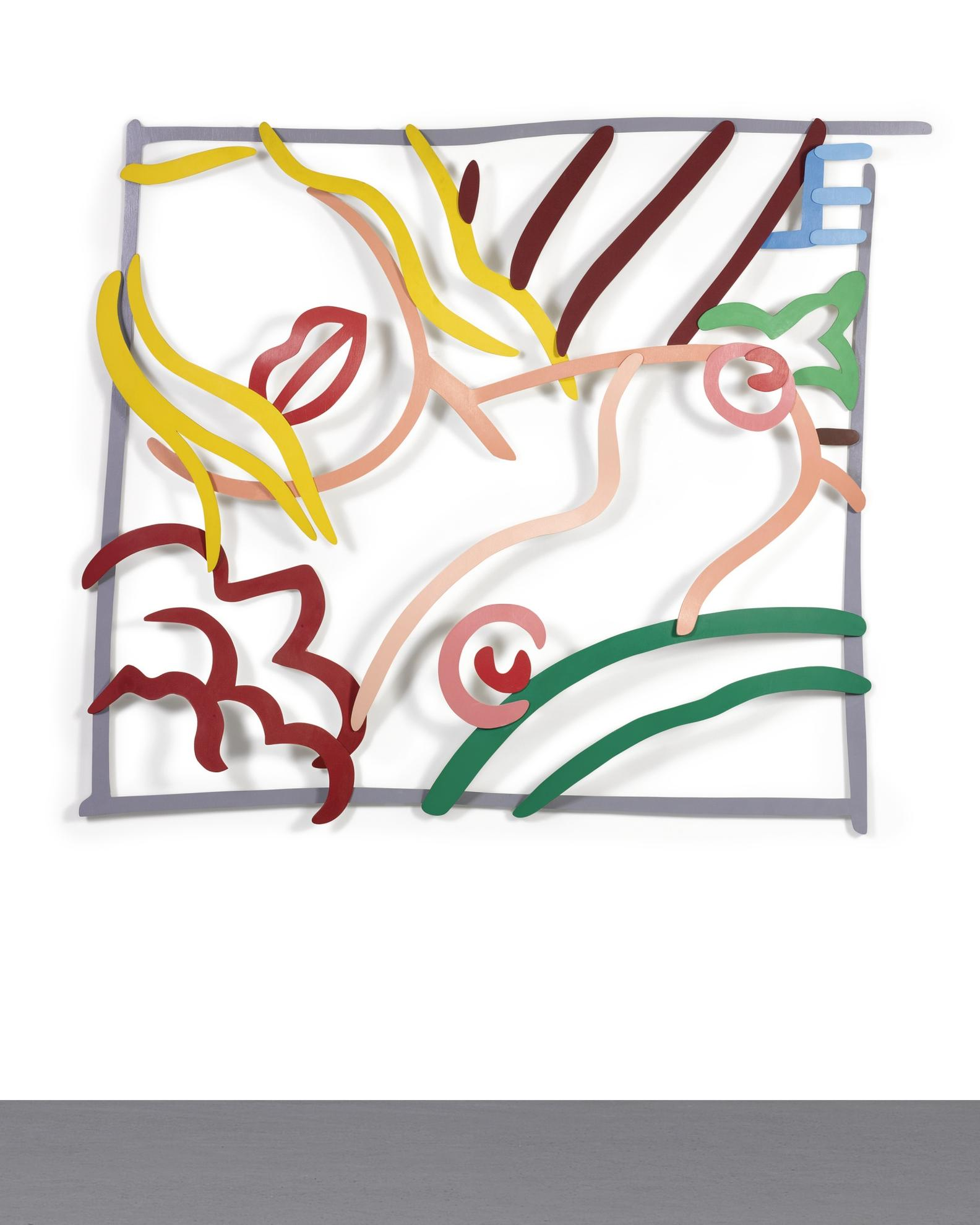 Tom Wesselmann-Bedroom Blonde Doodle (3-D)-1988