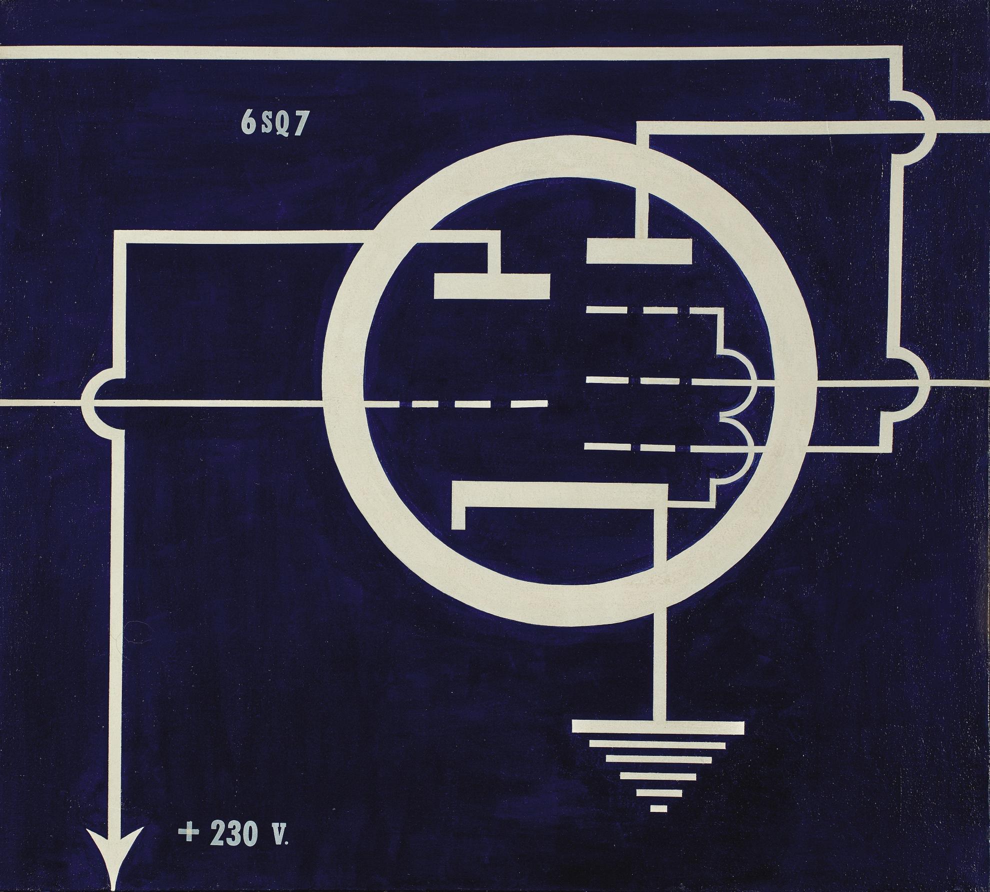 Allan D'Arcangelo-6 Sq 7-1963