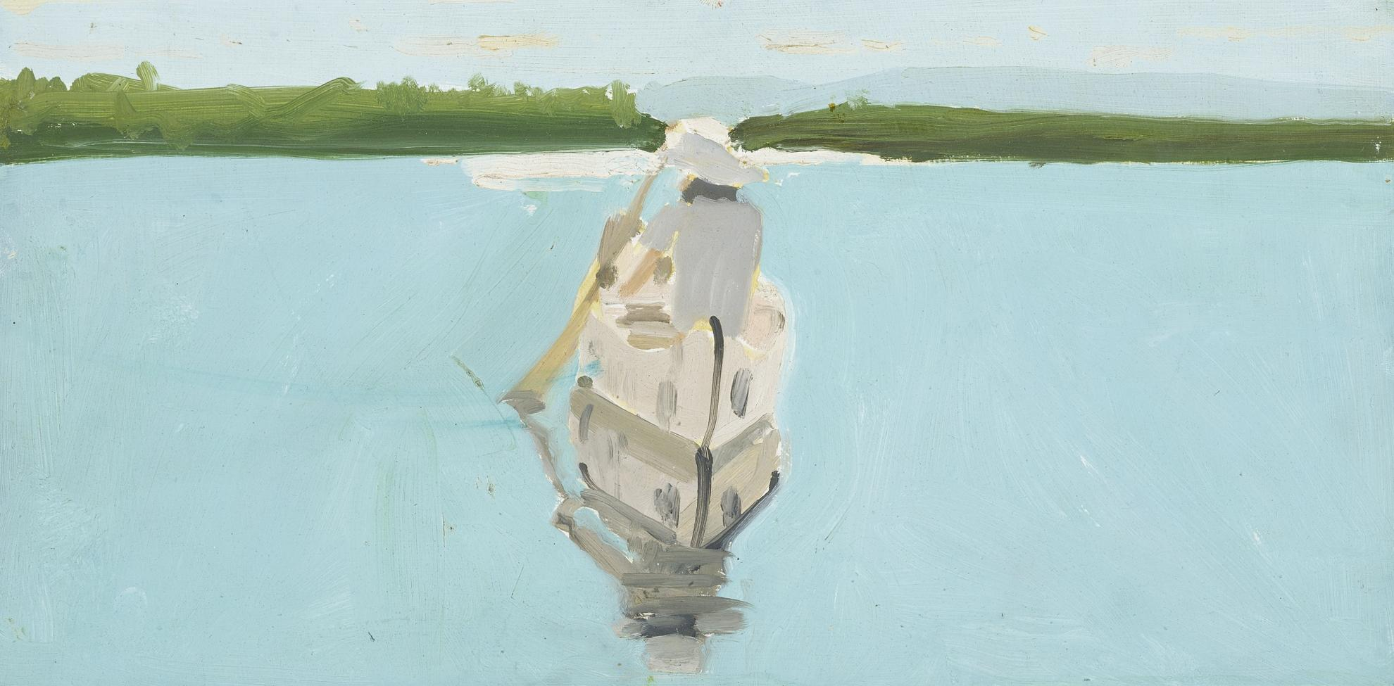 Alex Katz-Study For 'Good Afternoon'-1974
