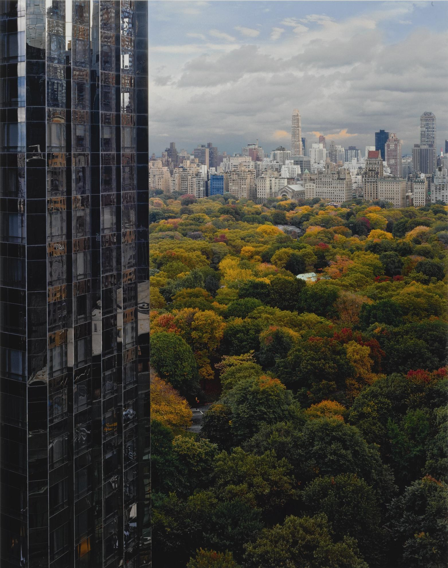Robert Polidori-View Of Central Park Toward The East, New York, Ny-2000