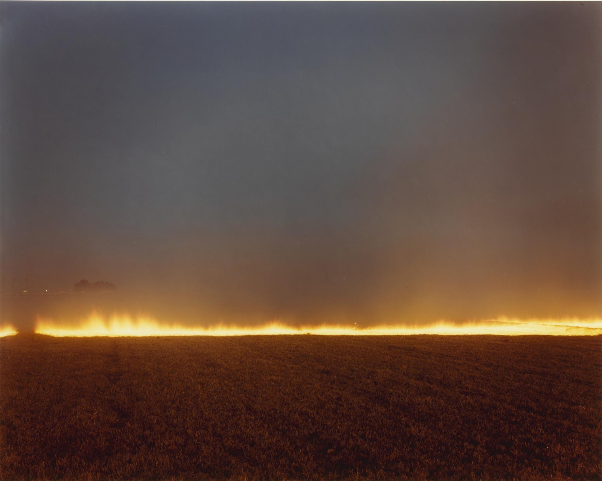 Richard Misrach-Desert Fire No. 248-1985