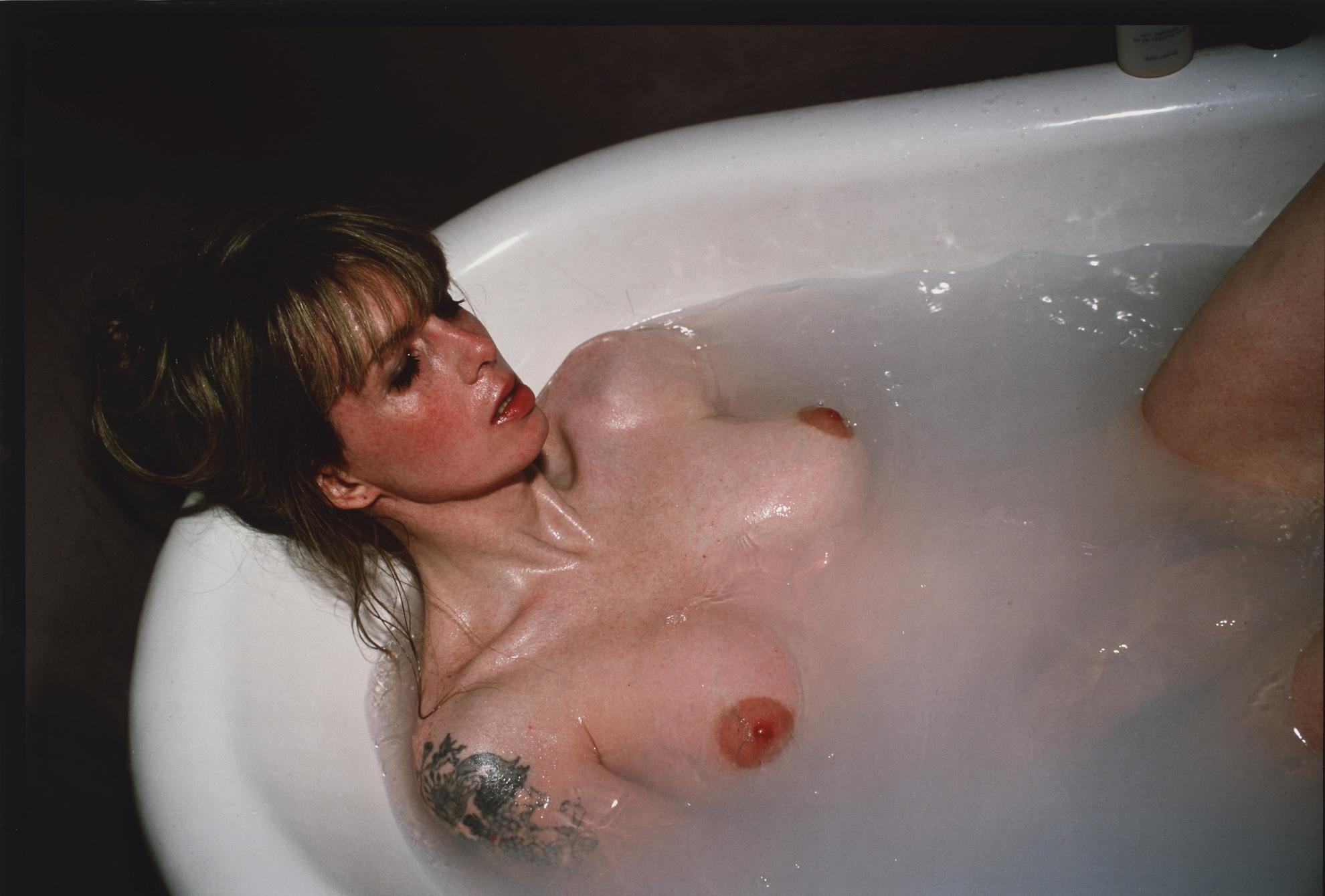 Nan Goldin-Joey In My Bathtub, Sag Harbor-1999