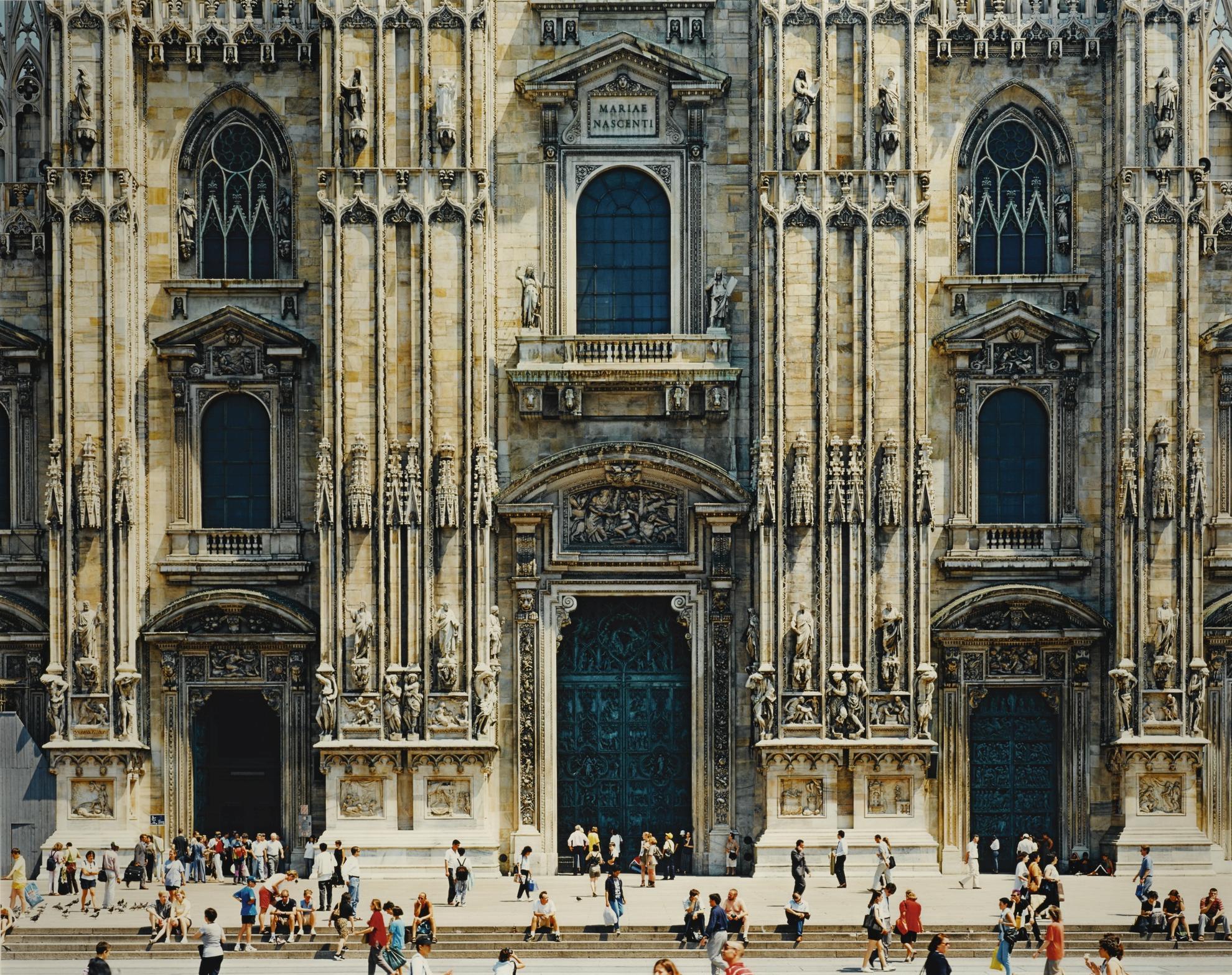 Thomas Struth-Mailander Dom (Fassade), Mailand-1998