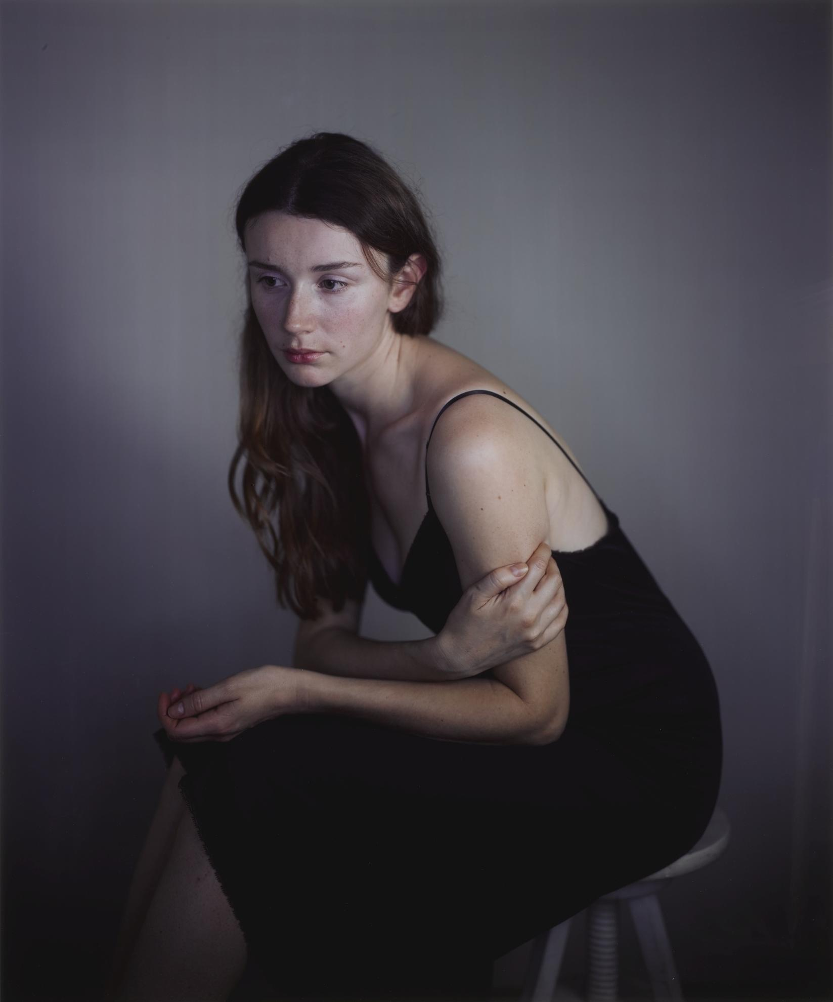 Richard Learoyd-Tatiana In Black Slip 2-2012