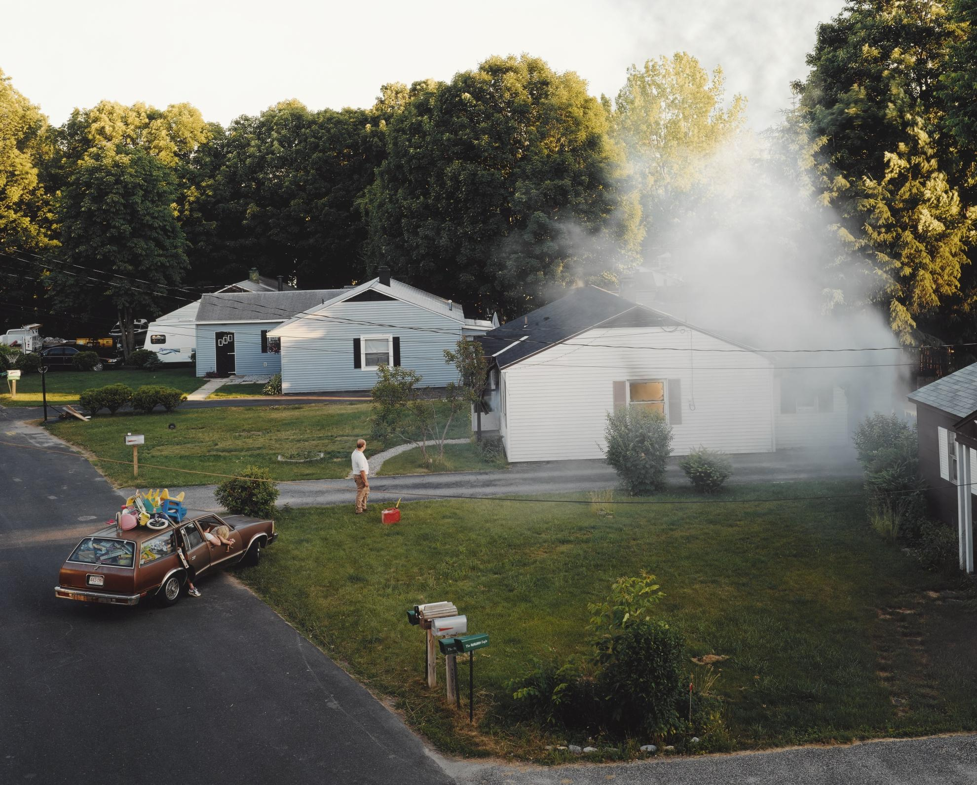 Gregory Crewdson-Untitled (House Fire)-1999