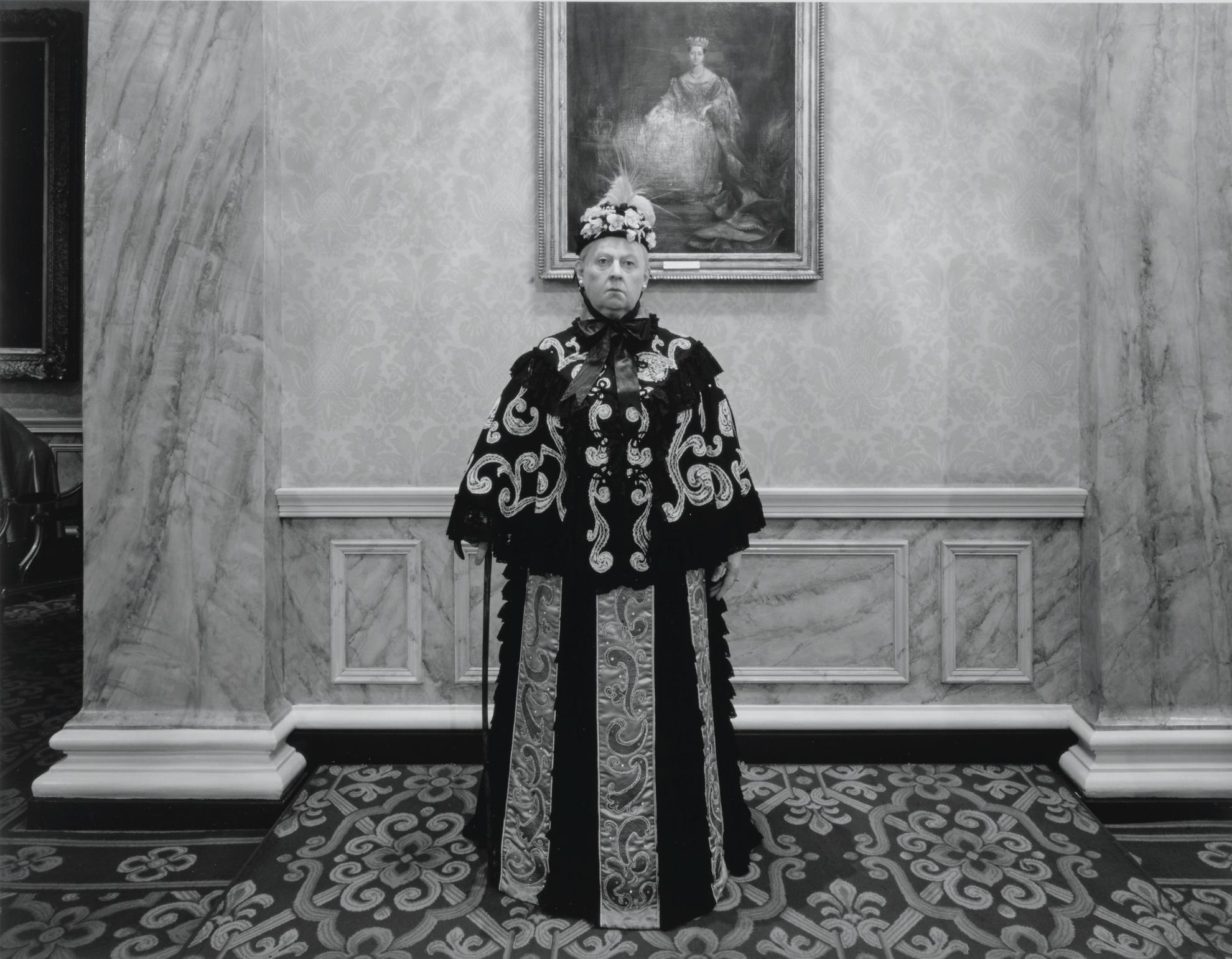 Hiroshi Sugimoto-Queen Victoria-1994