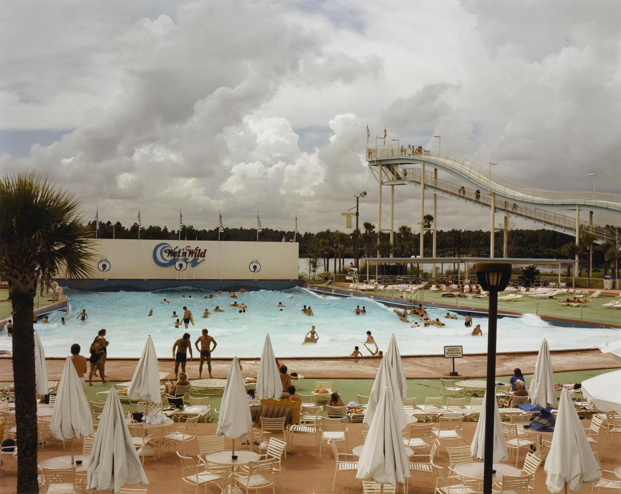 Joel Sternfeld-Wet N Wild Aquatic Theme Park, Orlando, Florida, September 1980-1980