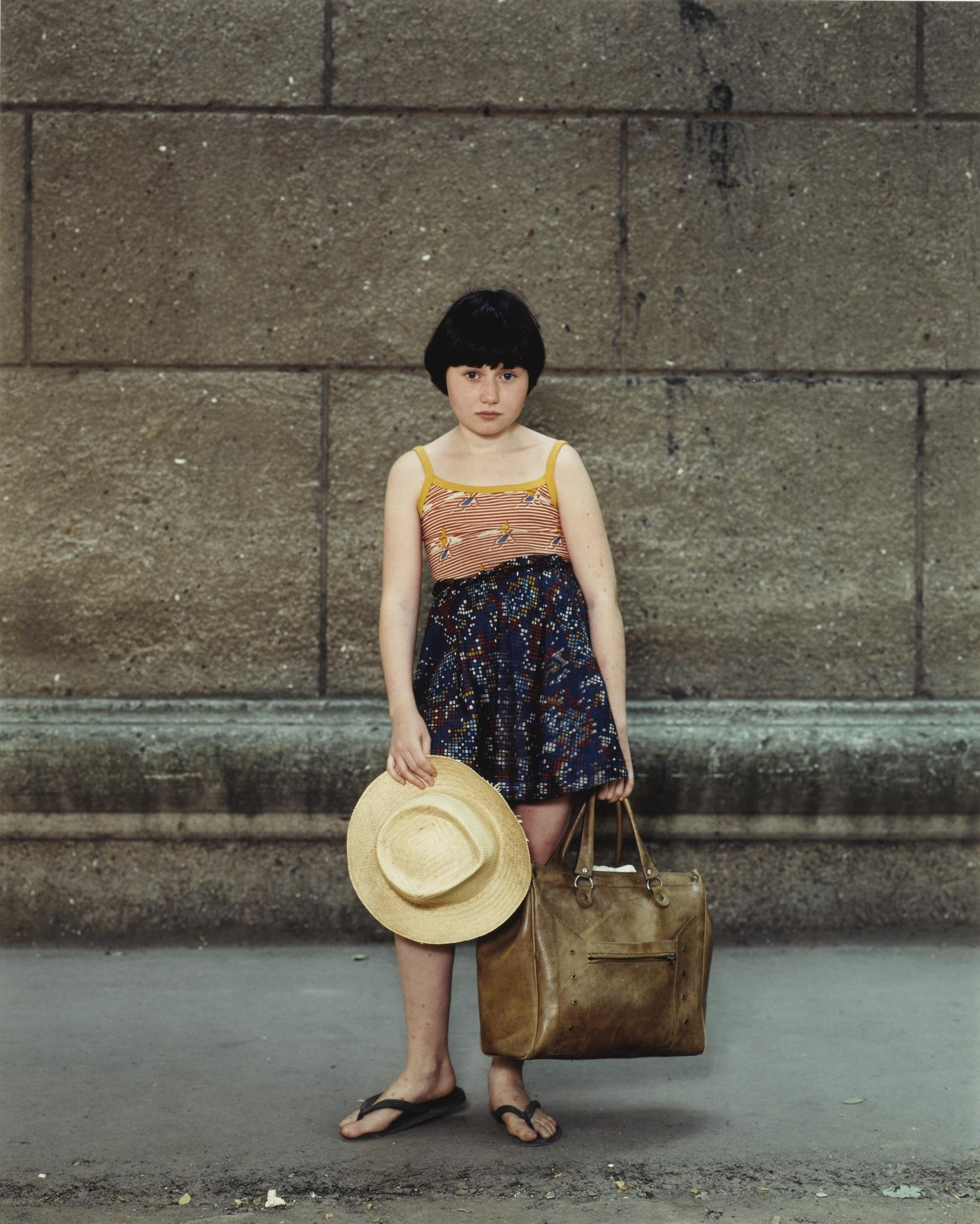 Rineke Dijkstra-Odessa, Ukraine, August 10, 1993-1993