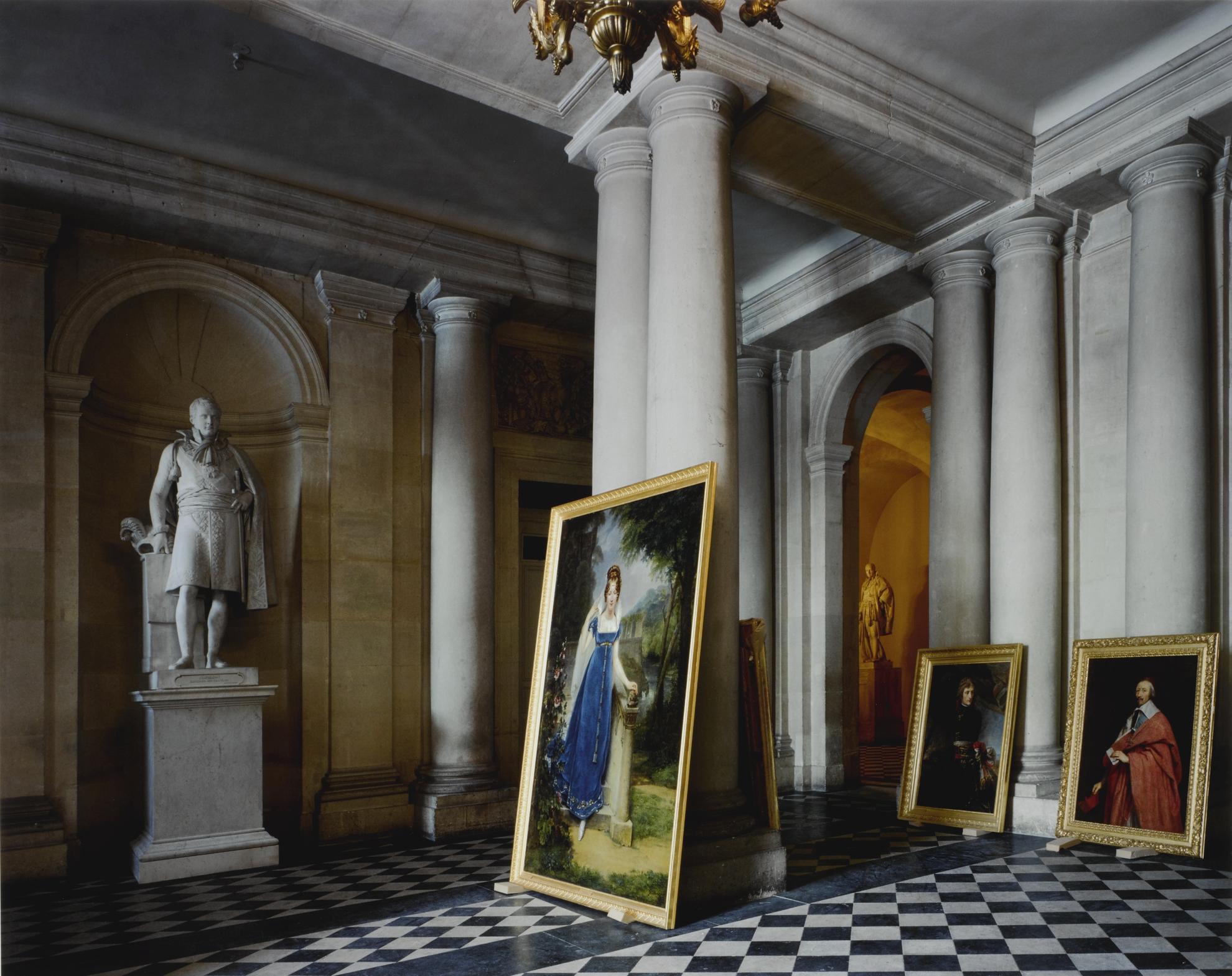 Robert Polidori-Vestibule, (73) Ami.01.009, Salles Empire, Aile Du Midi - R.D.C., Versailles-1985