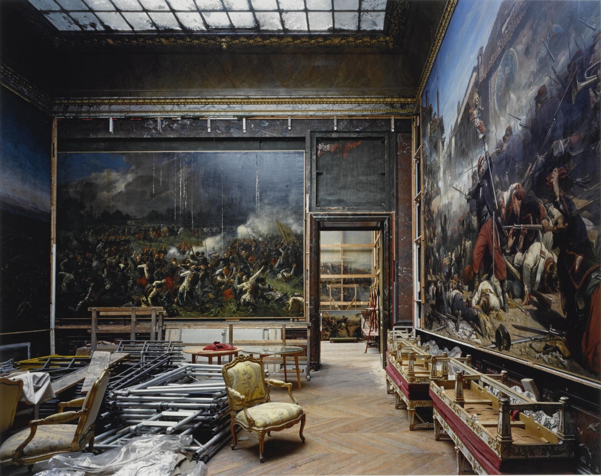 Robert Polidori-Salle De Crimee Sud, (99) Anr.02.036, Salles De Lafrique, Aile Du Nord - 1Er Etage, Versailles-1985