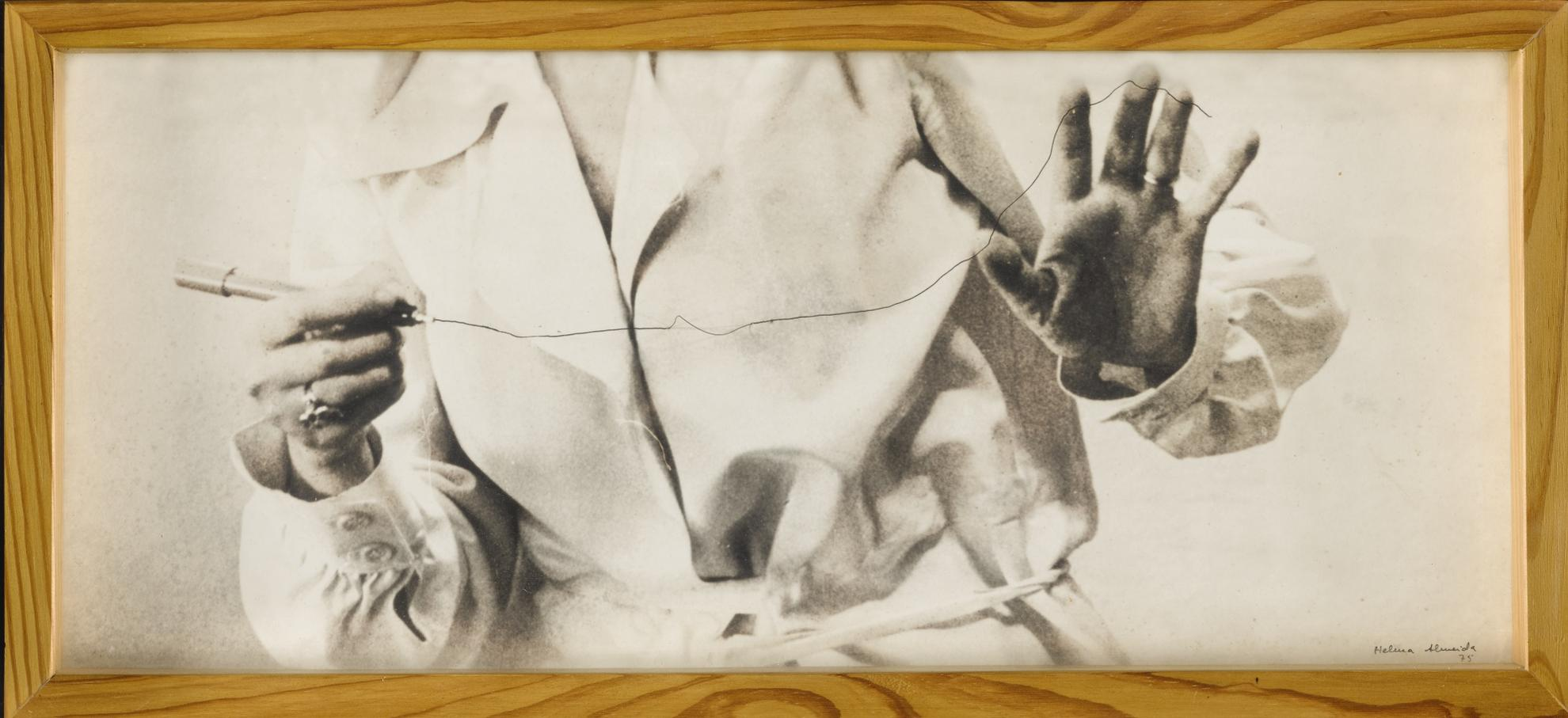 Helena Almeida-Inhabited Drawing-1975