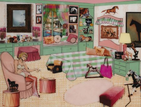 Laurie Simmons-The Instant Decorator (Pink & Green Bedroom)-2002