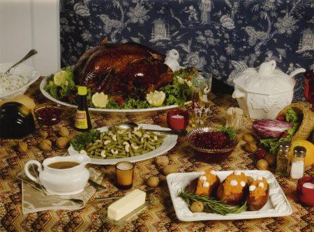 Roe Ethridge-Thanksgiving 1984 (Table)-2009