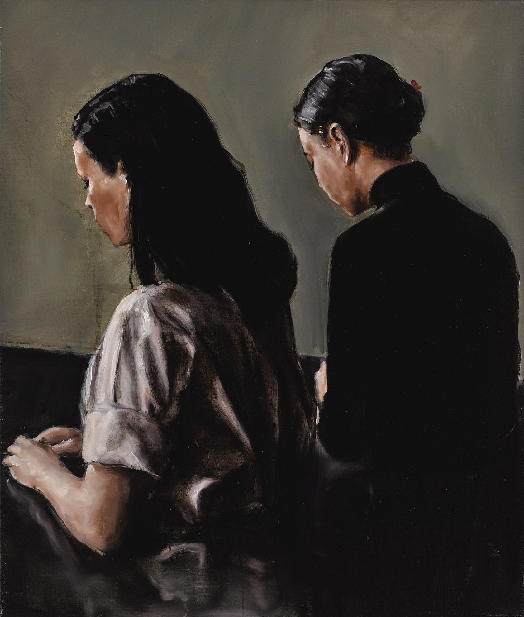 Michael Borremans-Two-2004