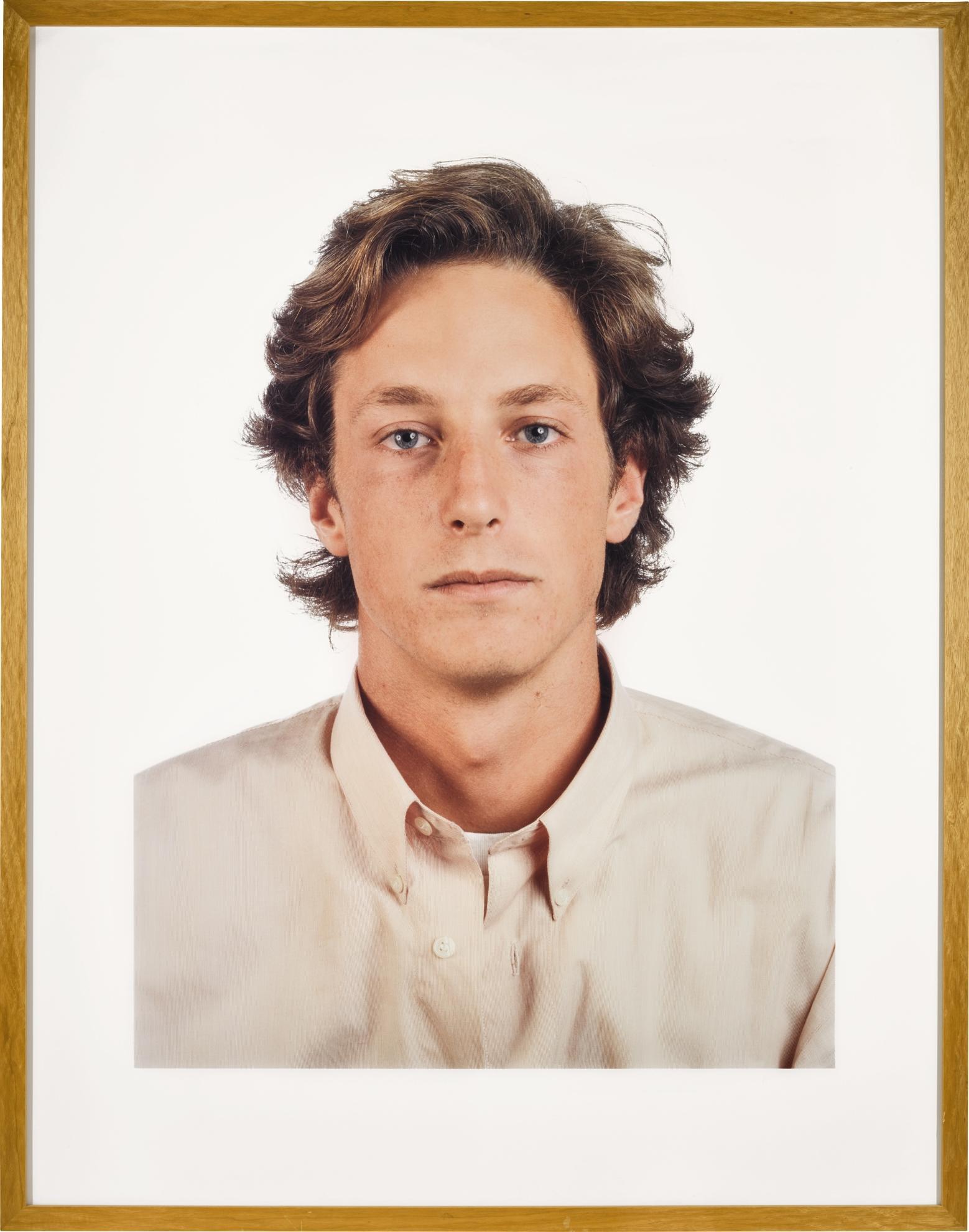 Thomas Ruff-Portrat (J. Rubell)-1989