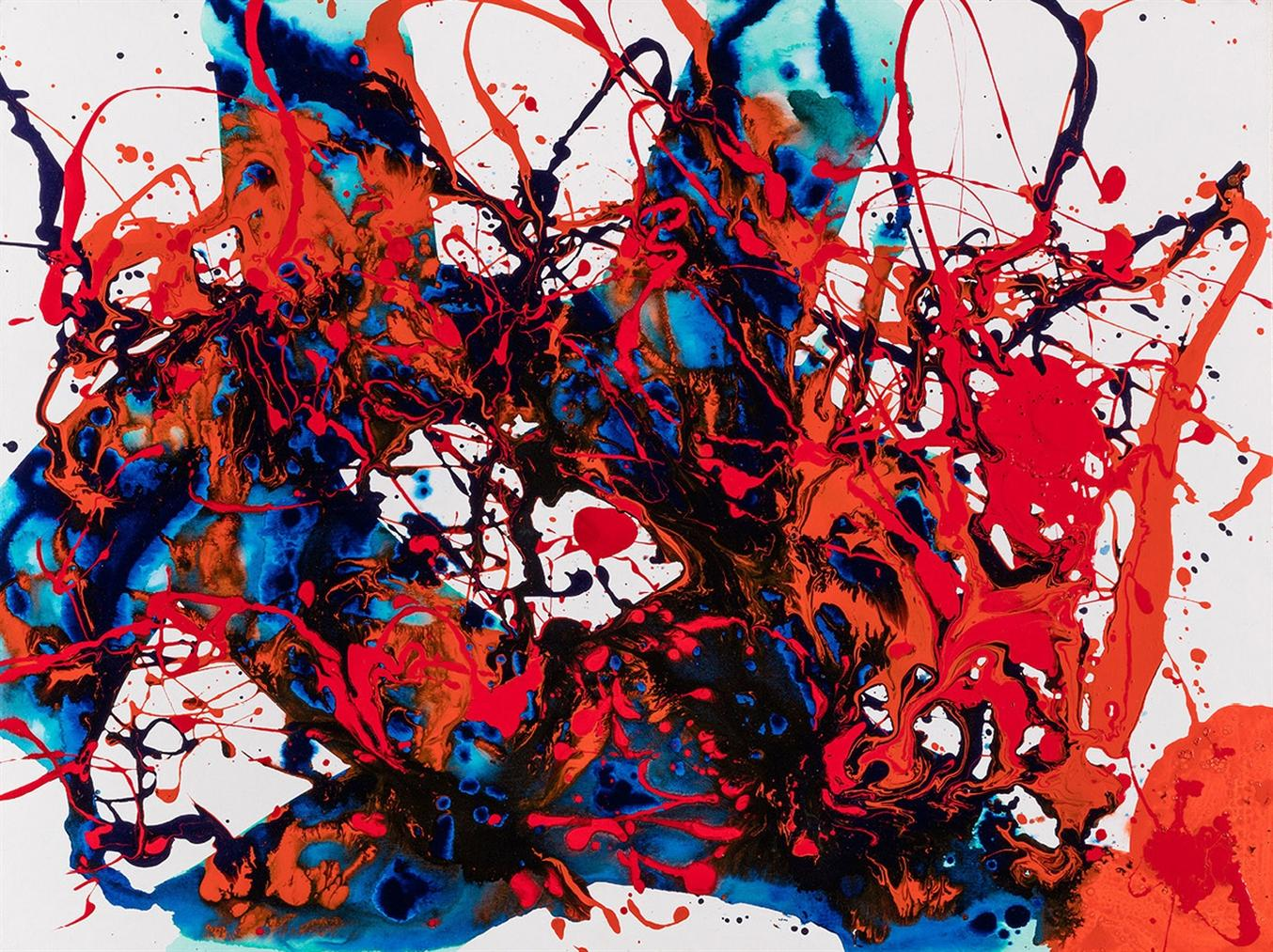 Sam Francis-Untitled (Sf94-020)-1994
