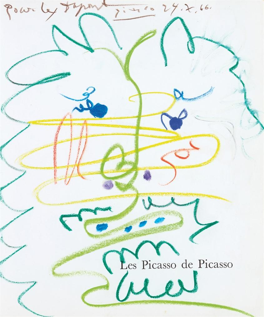 Pablo Picasso-Tete D'Homme-1966