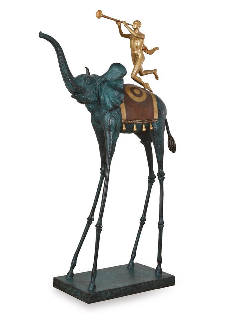Salvador Dali-Elephant Du Triomphe-1975