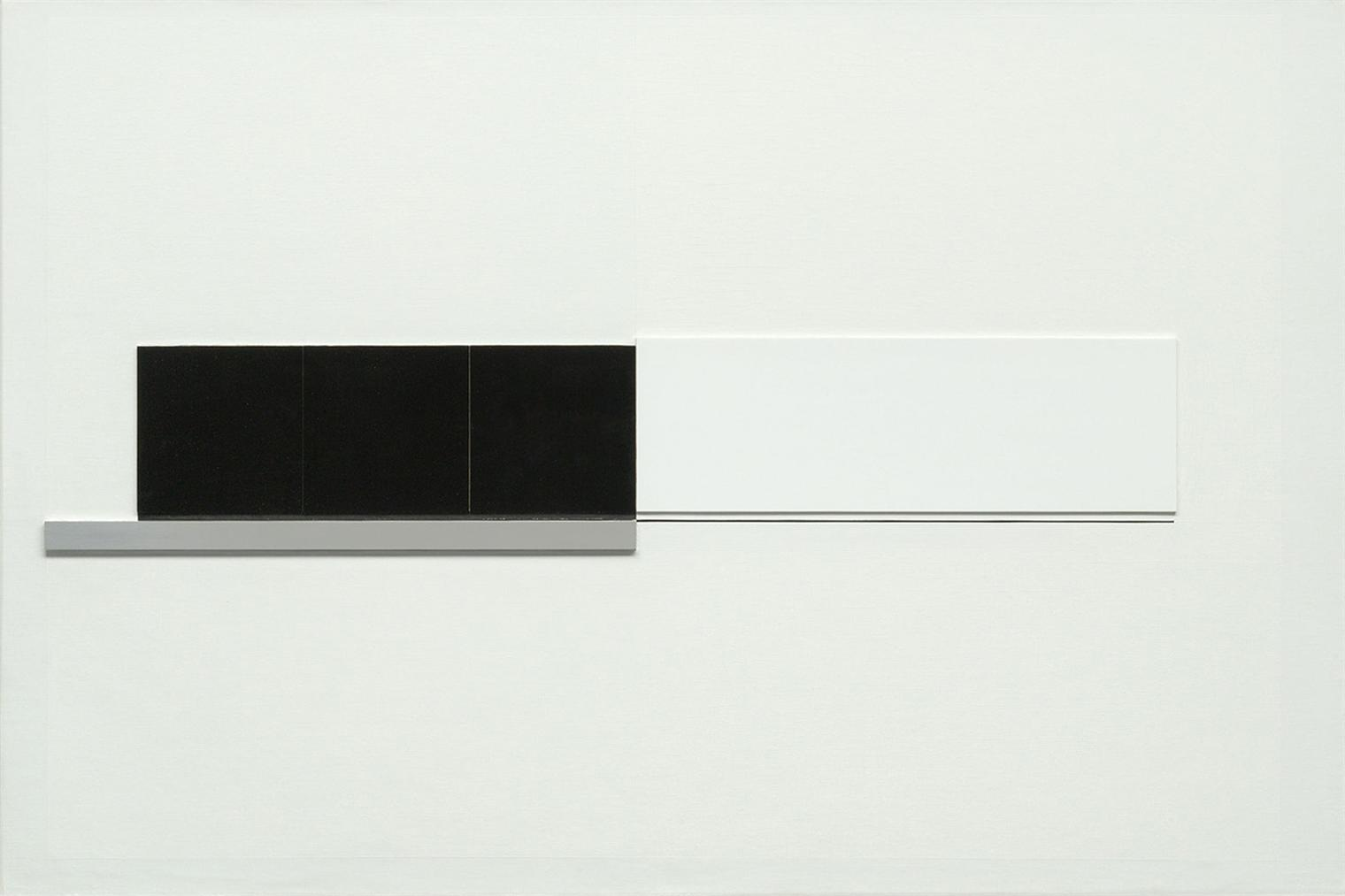 Richard Lin-8.8.64. (Painting Relief)-1964
