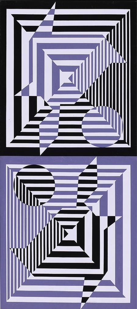 Victor Vasarely-Yabla-1976