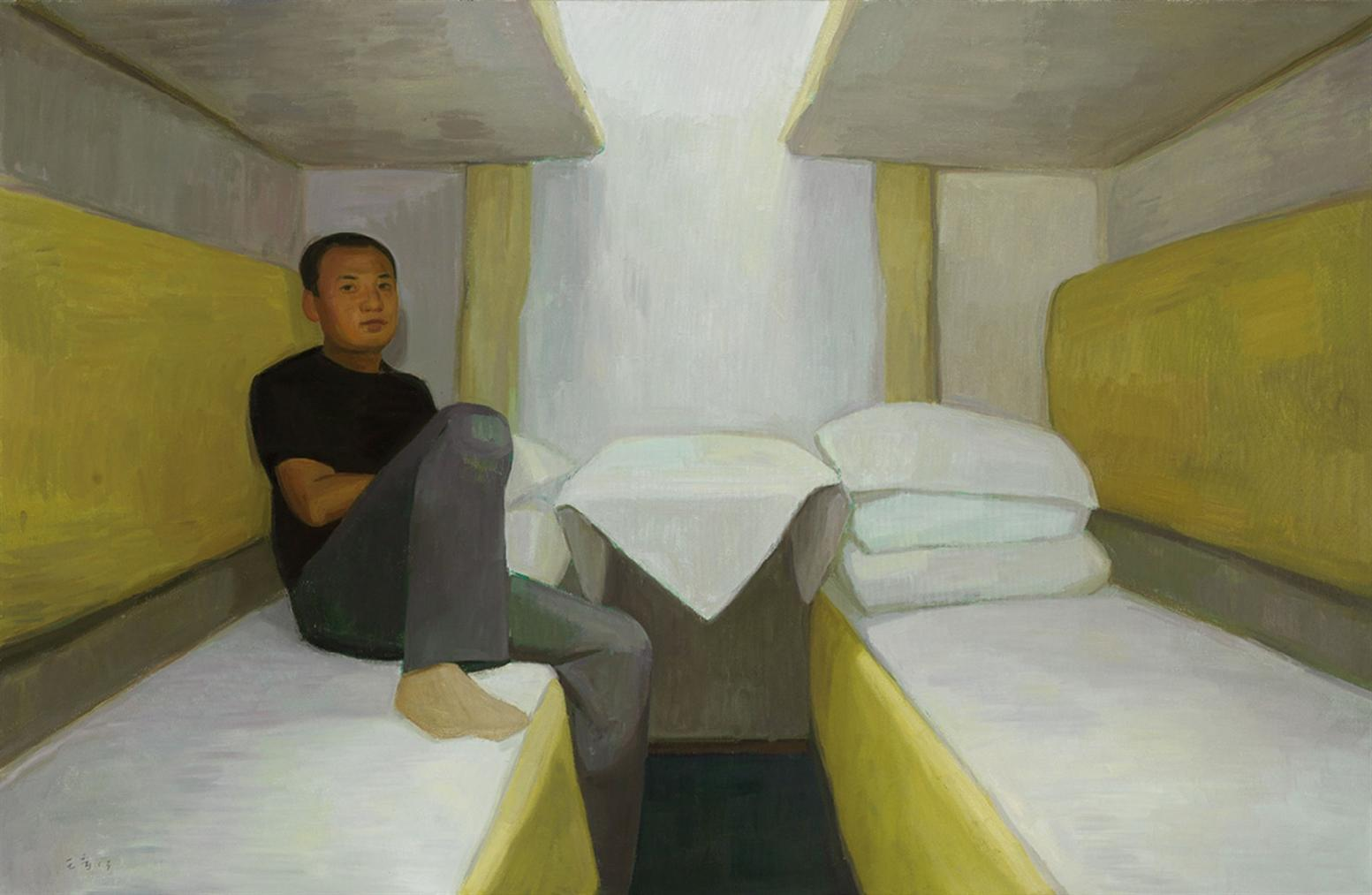 Wang Yin-On The Train-2013