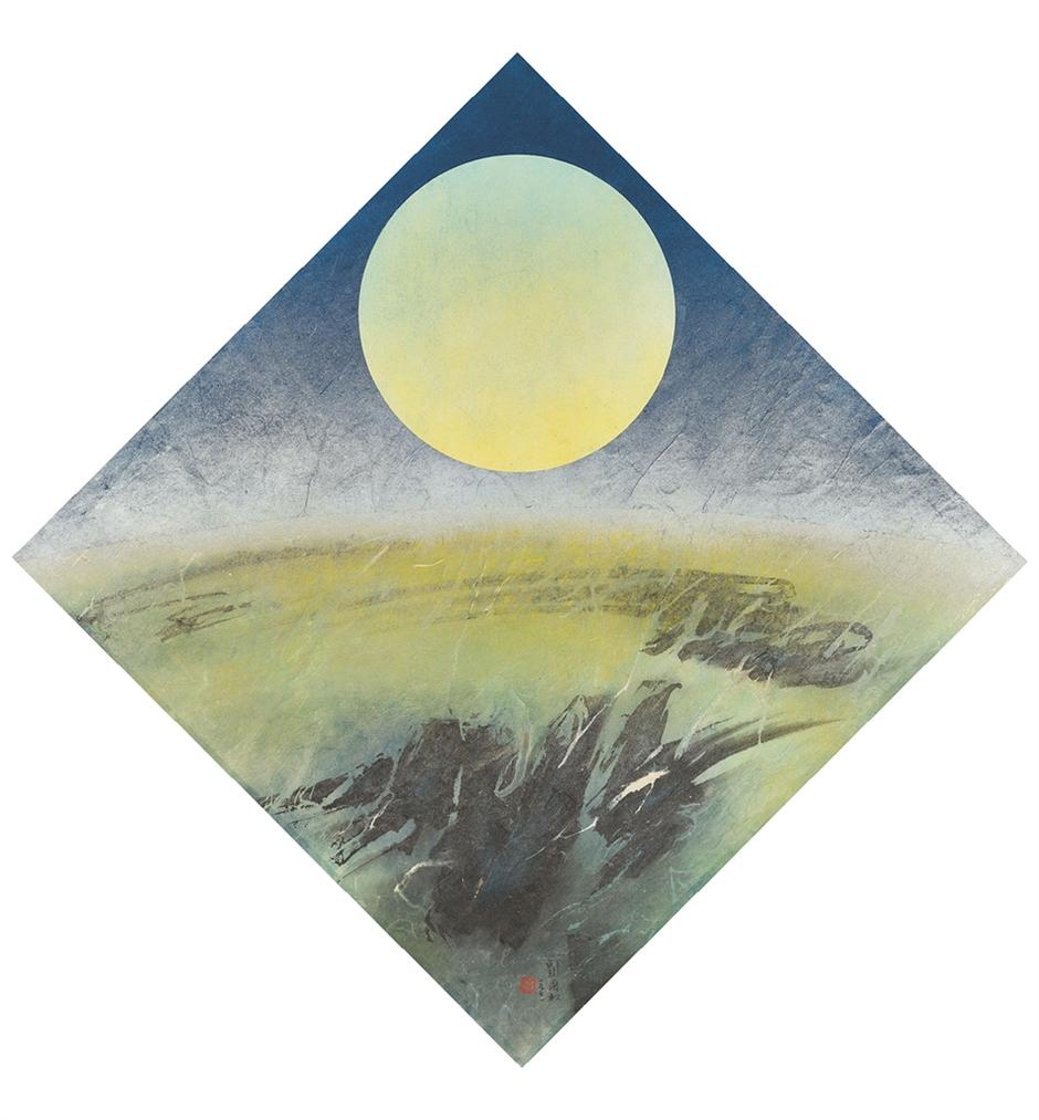 Liu Kuo-Sung-Moon's Metamorphosis I-1971