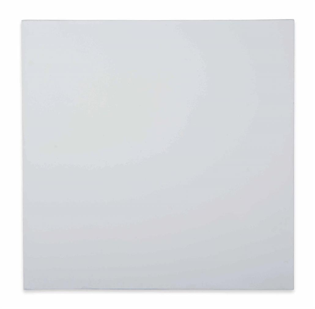 Olivier Mosset-Monochrome Blanc (Monochrome White)-1980