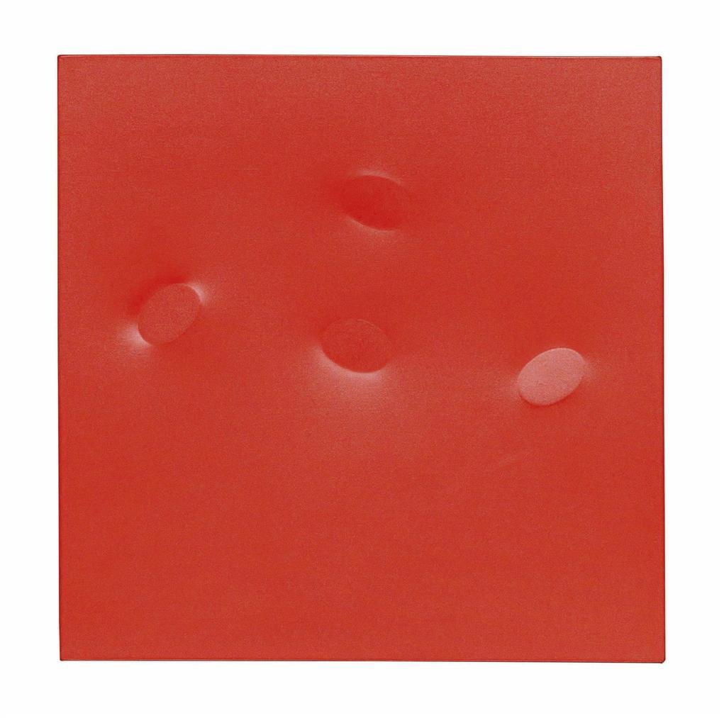 Turi Simeti-Quattro Ovali Rossi (Four Red Ovals)-2003