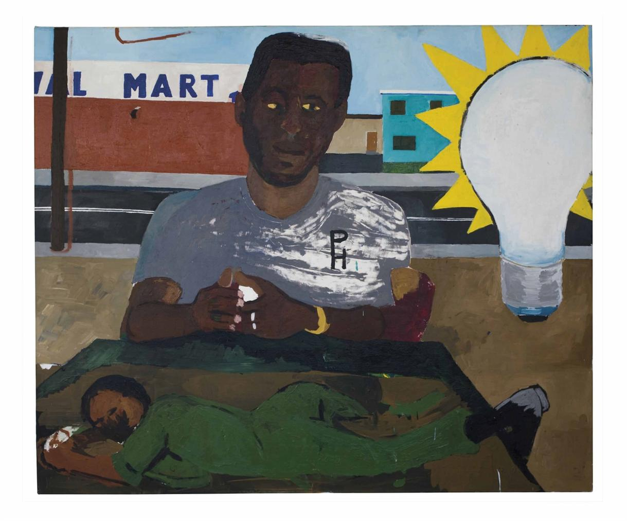 Henry Taylor-My Brother Gene The Former Tunnel Rat-2010