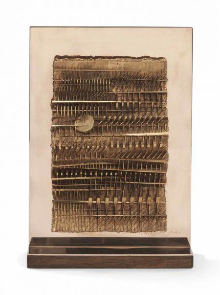 Arnaldo Pomodoro-Papiro (Papyrus)-1987