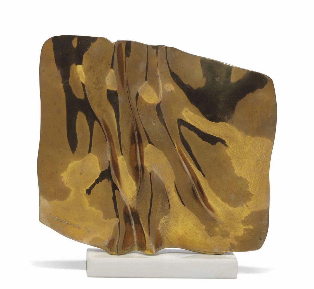 Gio Pomodoro-Quadrato Piccolo (Small Square)-1964